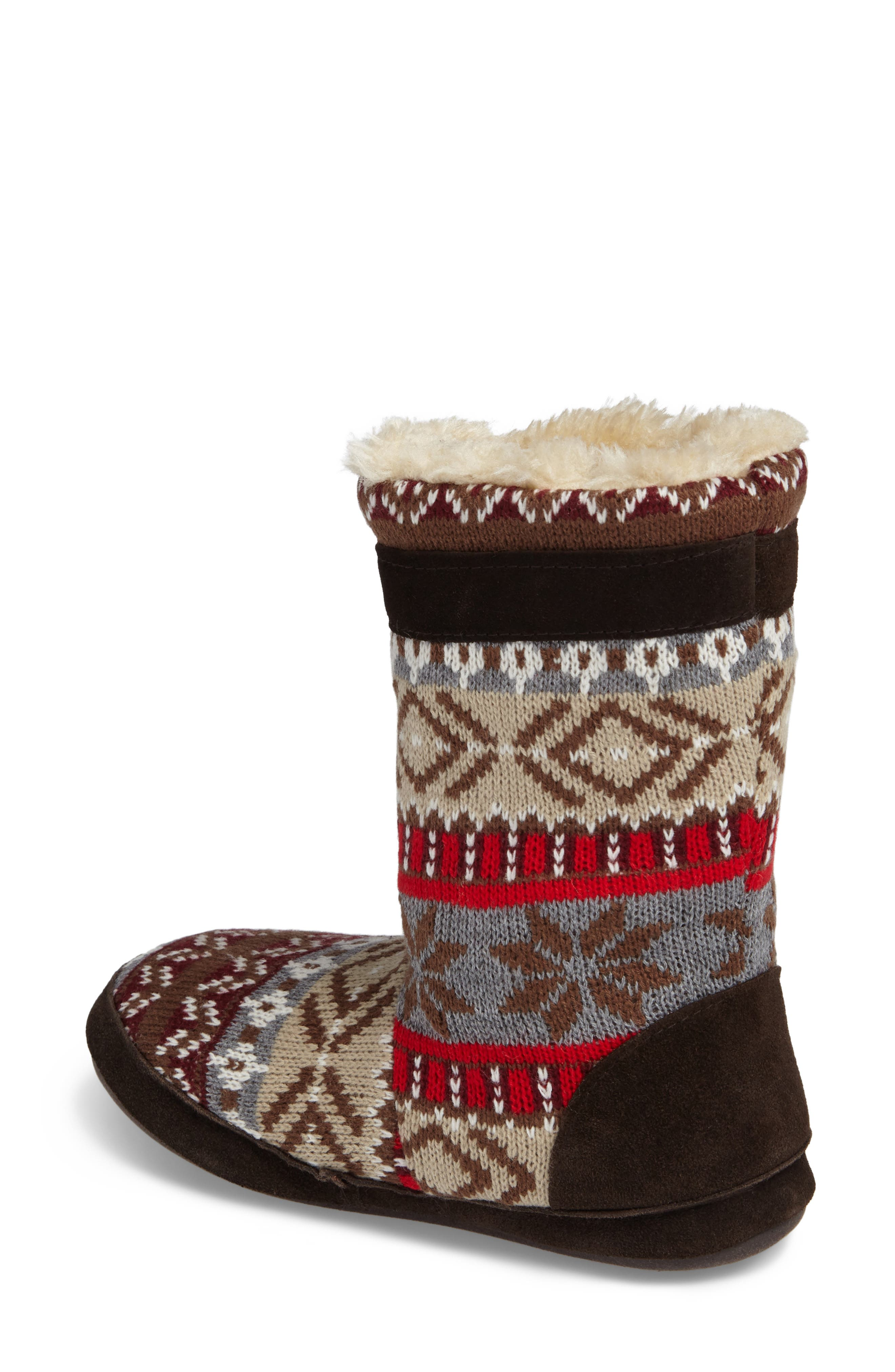 Alternate Image 2  - Woolrich Whitecap Knit Slipper Bootie (Women)
