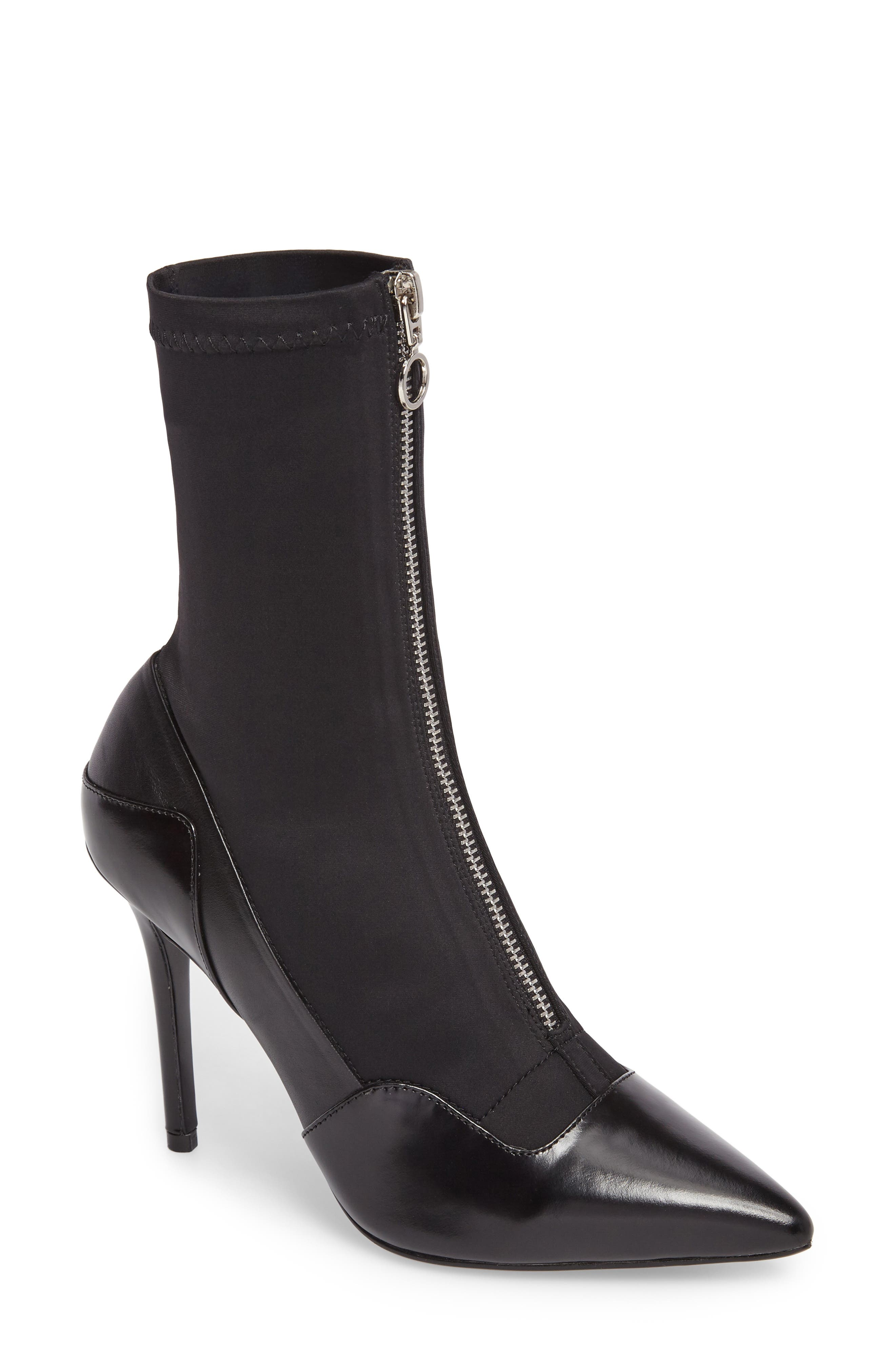 Alternate Image 1 Selected - Tony Bianco Dini Stiletto Stretch Bootie (Women)