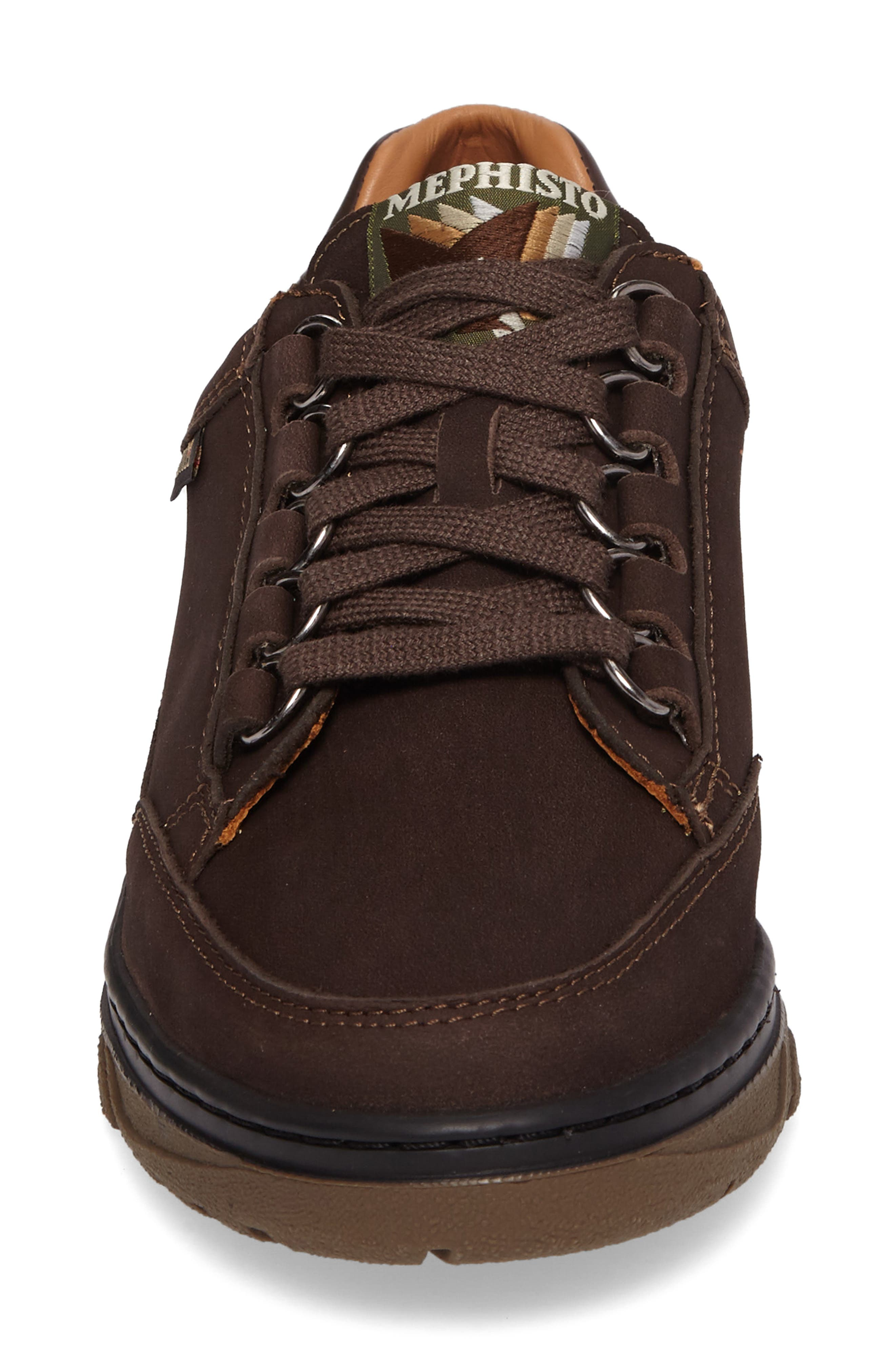Natasha Sneaker,                             Alternate thumbnail 4, color,                             Dark Brown Leather