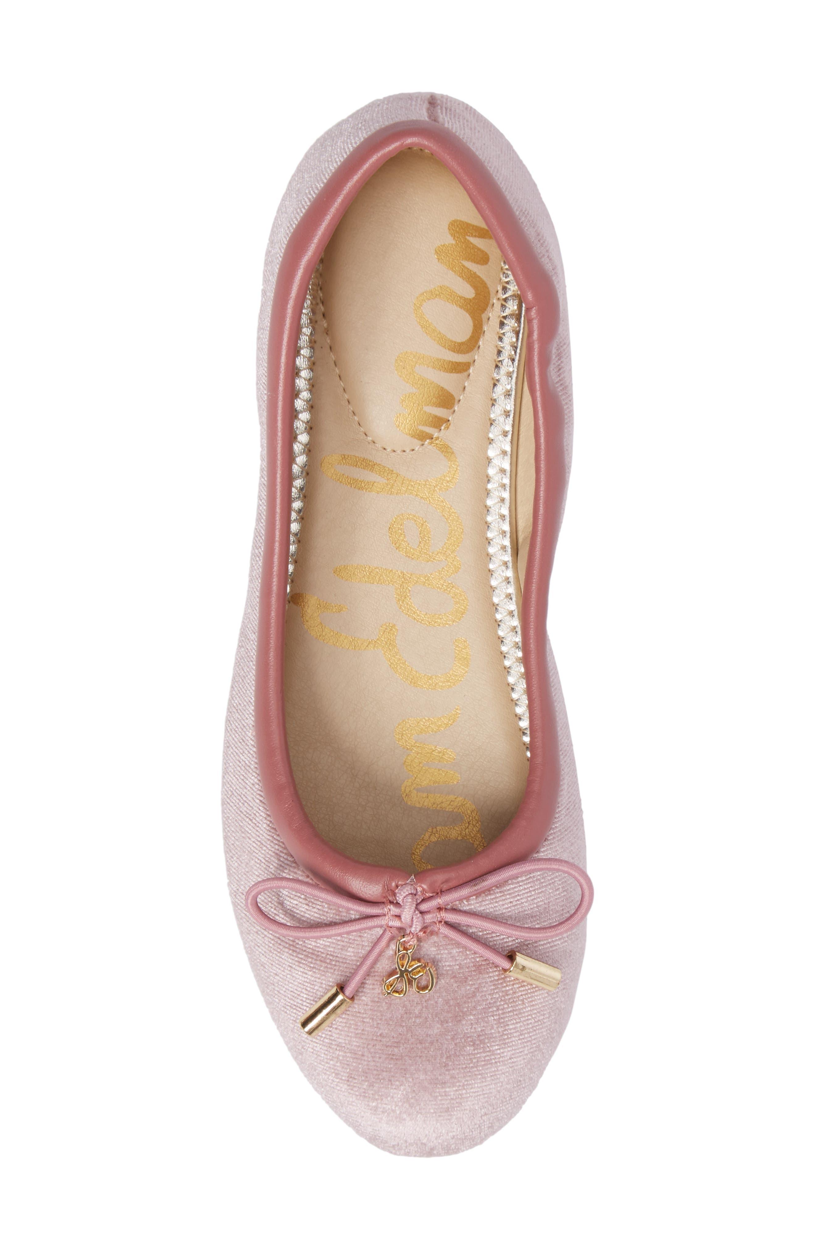 Alternate Image 5  - Sam Edelman 'Felicia' Ballet Flat (Toddler, Little Kid & Big Kid)