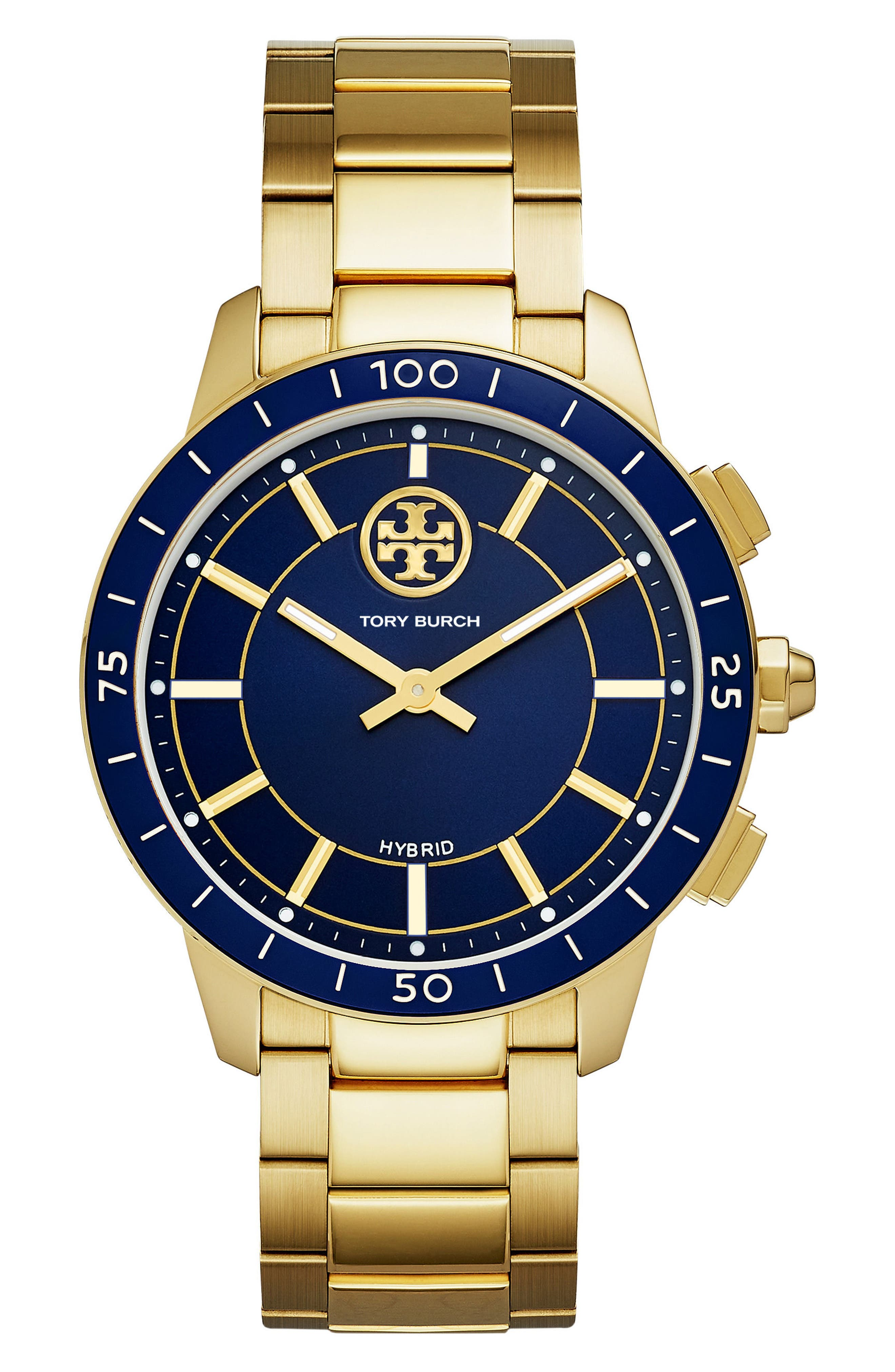 Tory Burch Collins Hybrid Bracelet Watch, 38mm