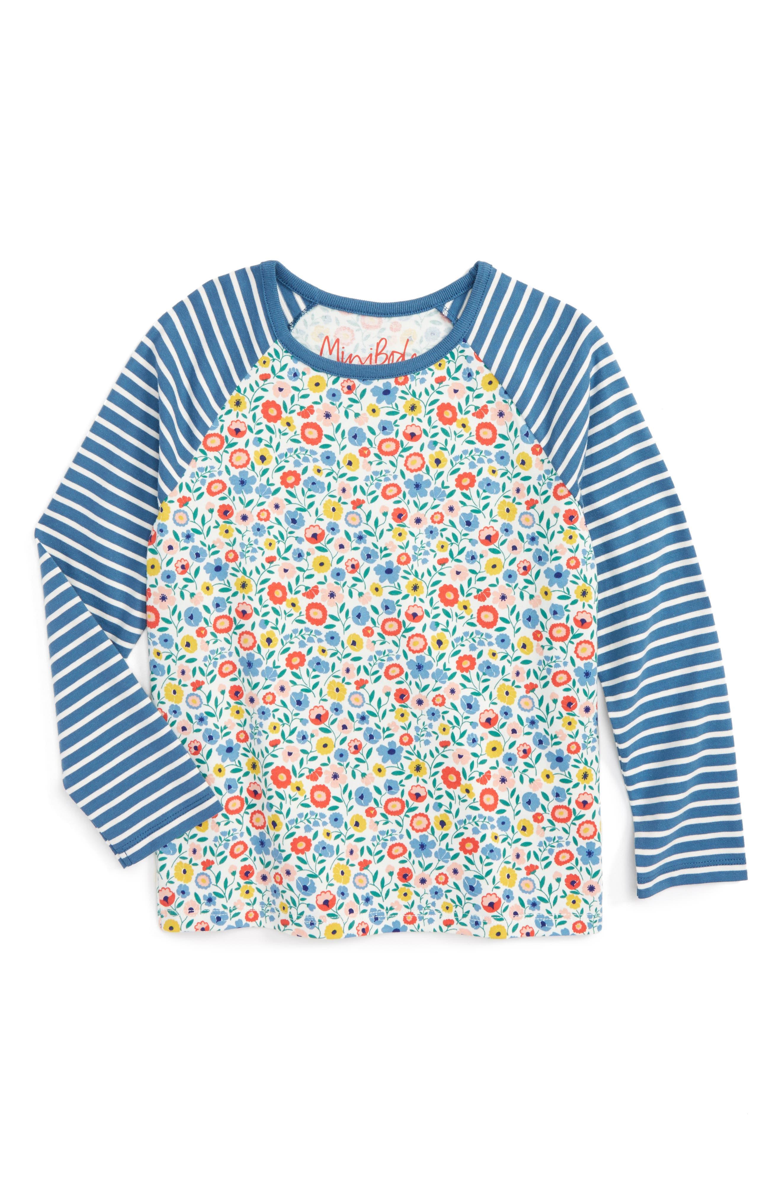 Alternate Image 1 Selected - Mini Boden Hotchpotch Tee (Toddler Girls, Little Girls & Big Girls)