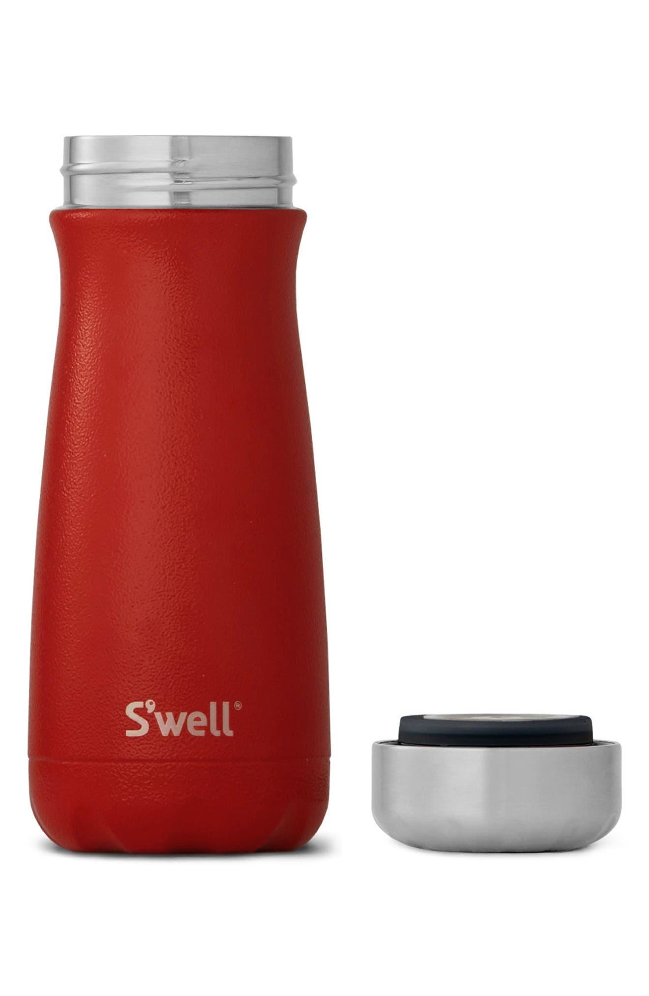 Alternate Image 2  - S'well Traveler Flare Insulated Stainless Steel Water Bottle