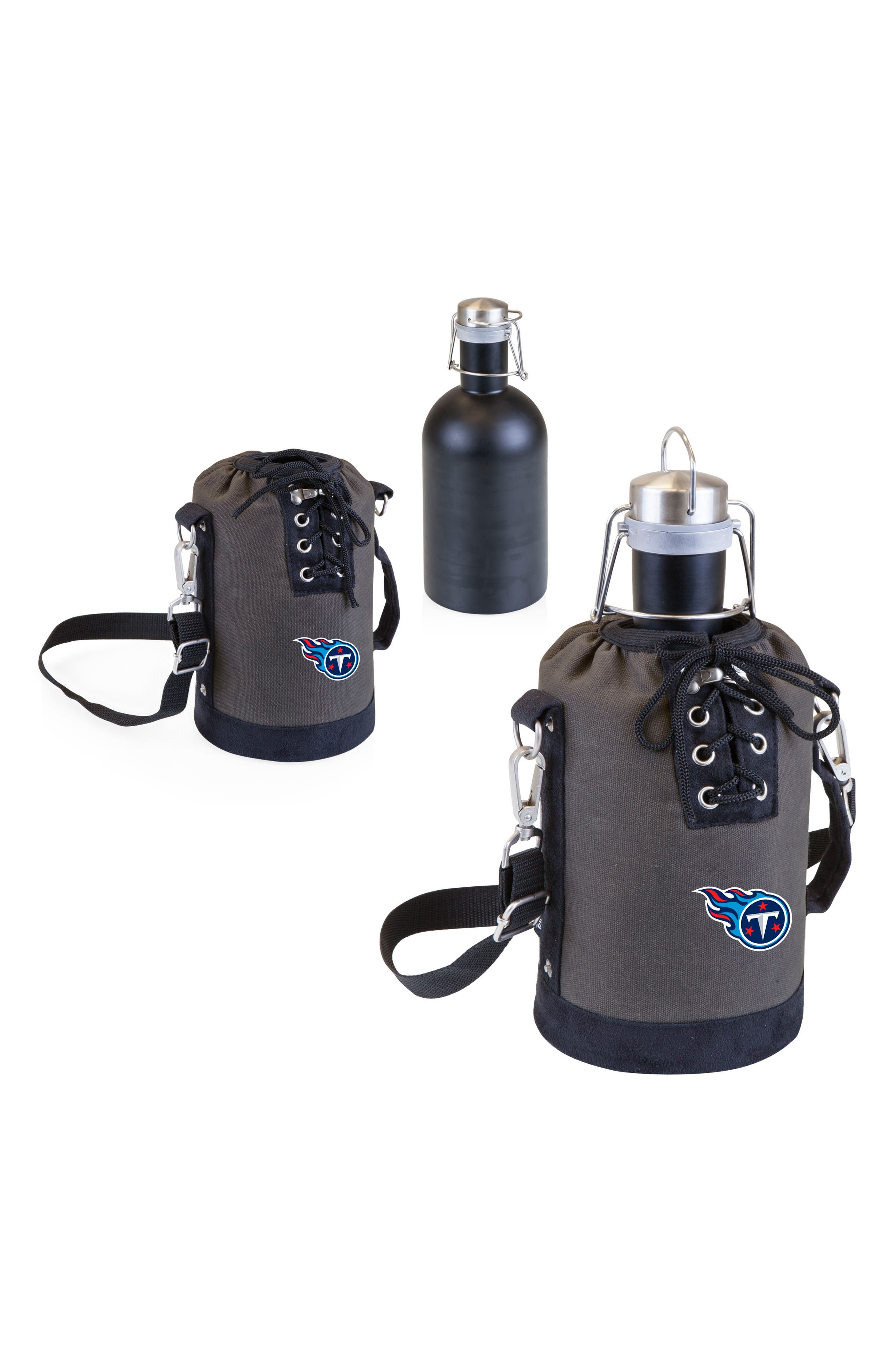 Alternate Image 2  - Picnic Time NFL Team Logo Tote & Stainless Steel Growler
