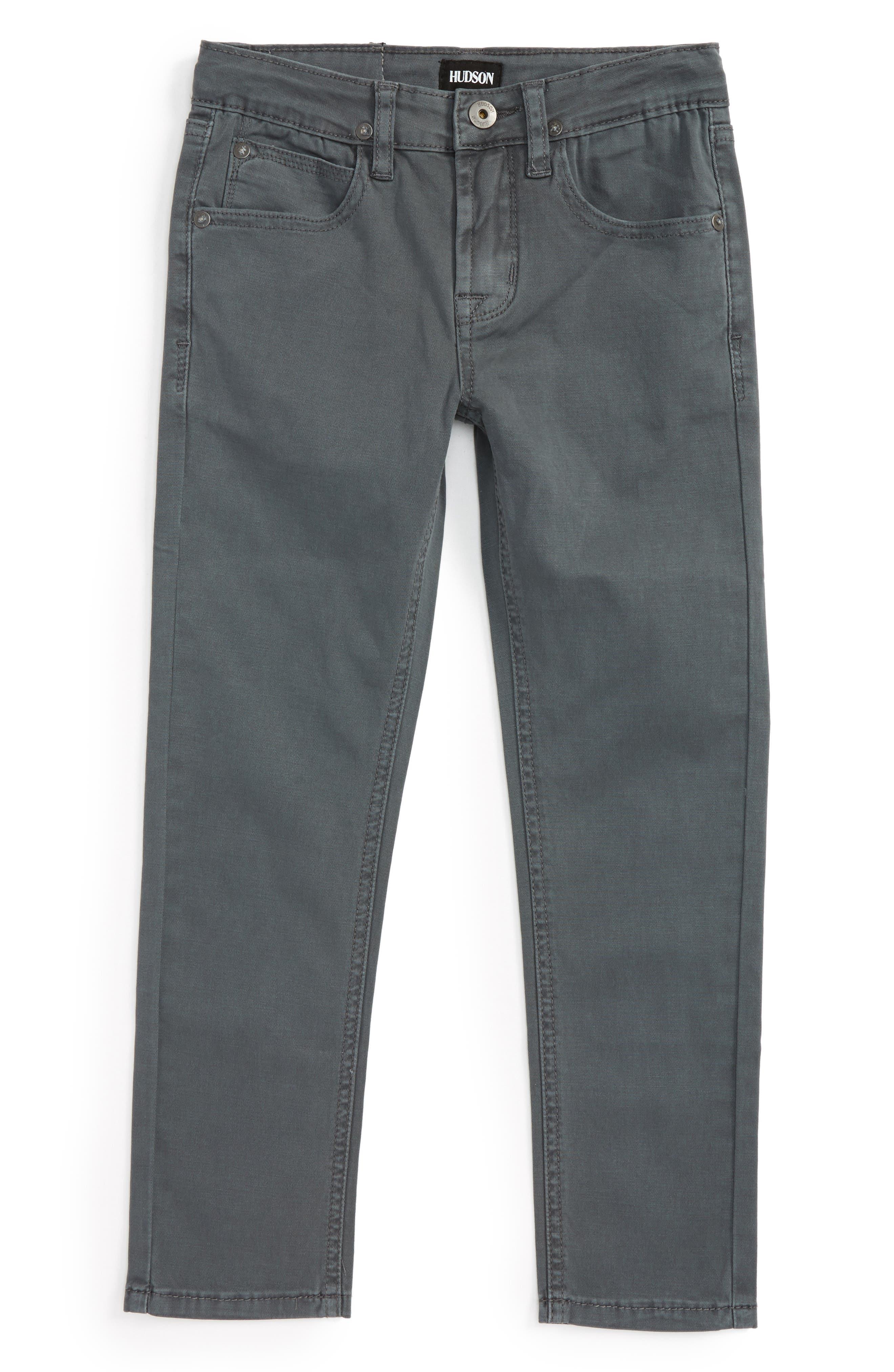 Hudson Jeans Jagger Slim Fit Straight Leg Pants (Toddler Boys & Little Boys)