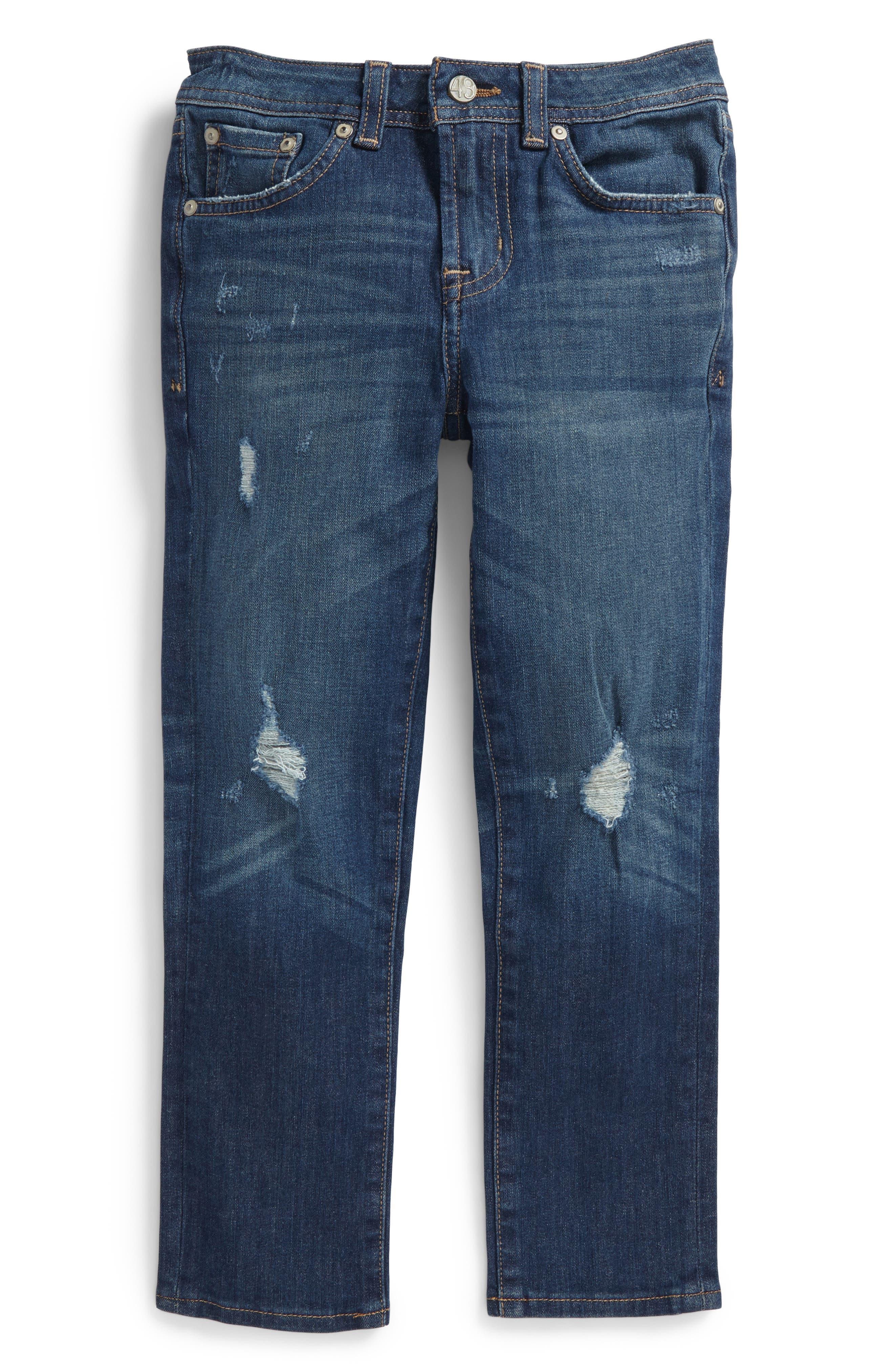 The Noah Slim Straight Leg Jeans,                         Main,                         color, 7 Year Vision