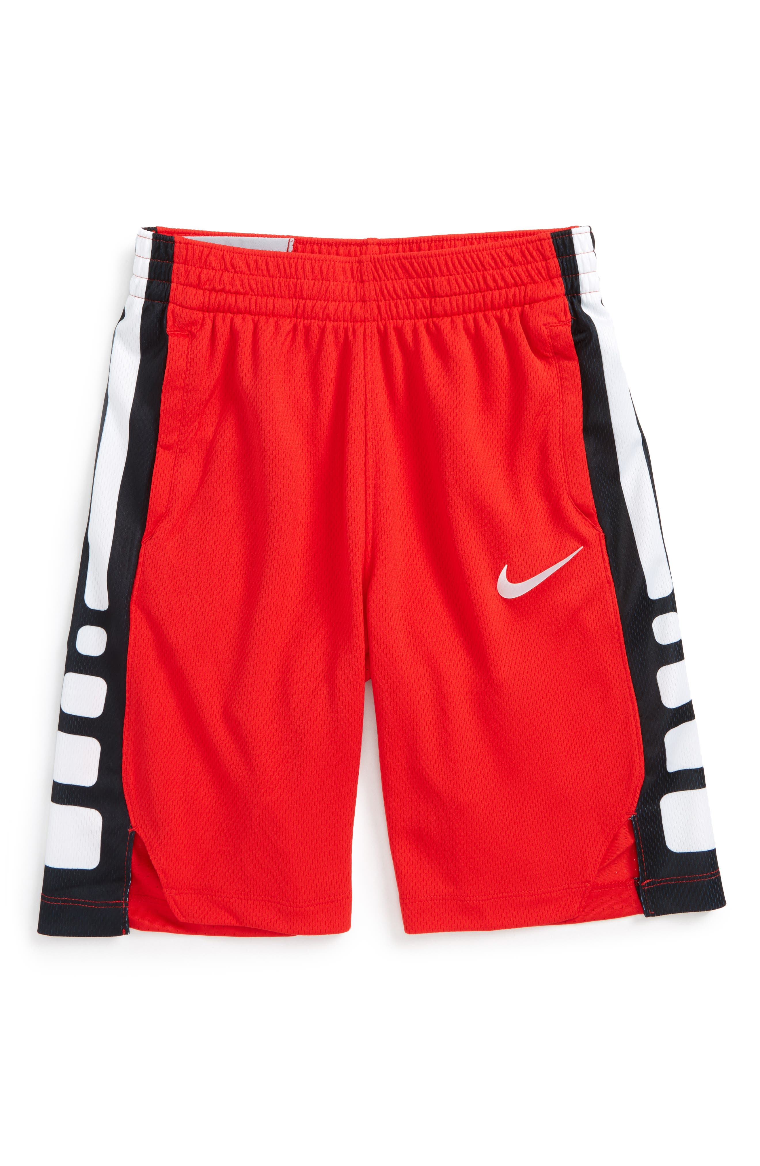 Dry Elite Basketball Shorts,                         Main,                         color, Unvred/ White