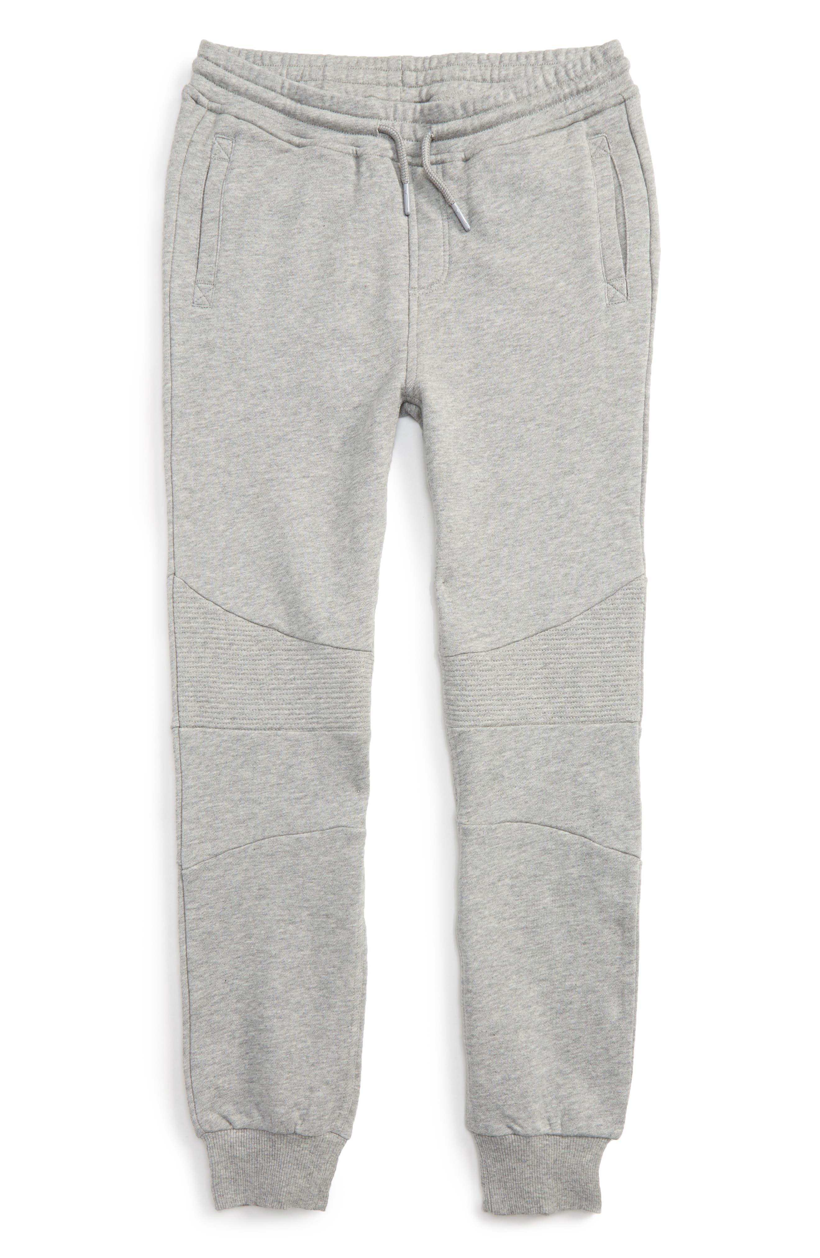Julius Knit Jogger Pants,                         Main,                         color, Grey Heather
