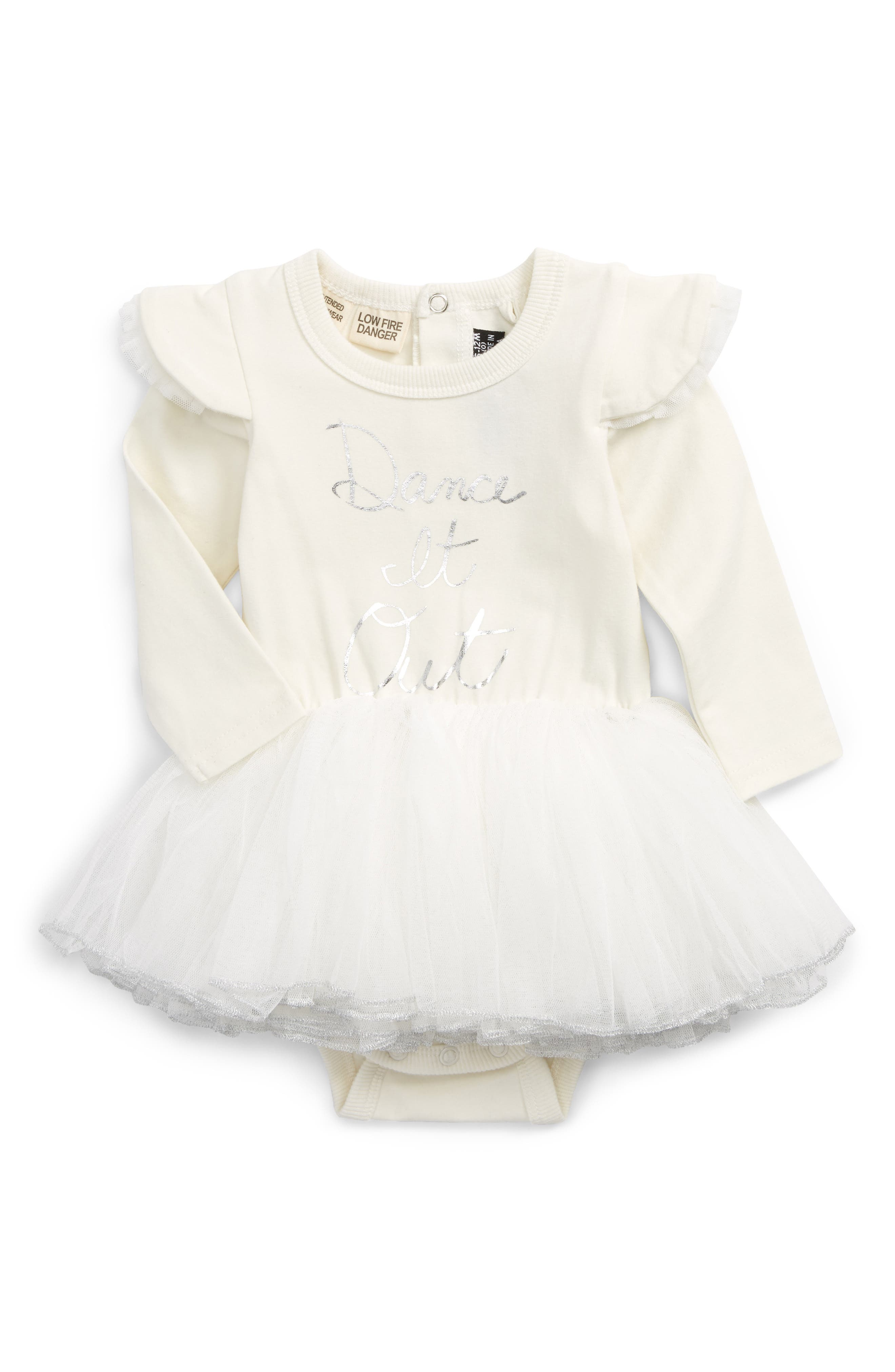 Alternate Image 1 Selected - Rock Your Baby Dance It Out Circus Tutu Bodysuit (Baby)