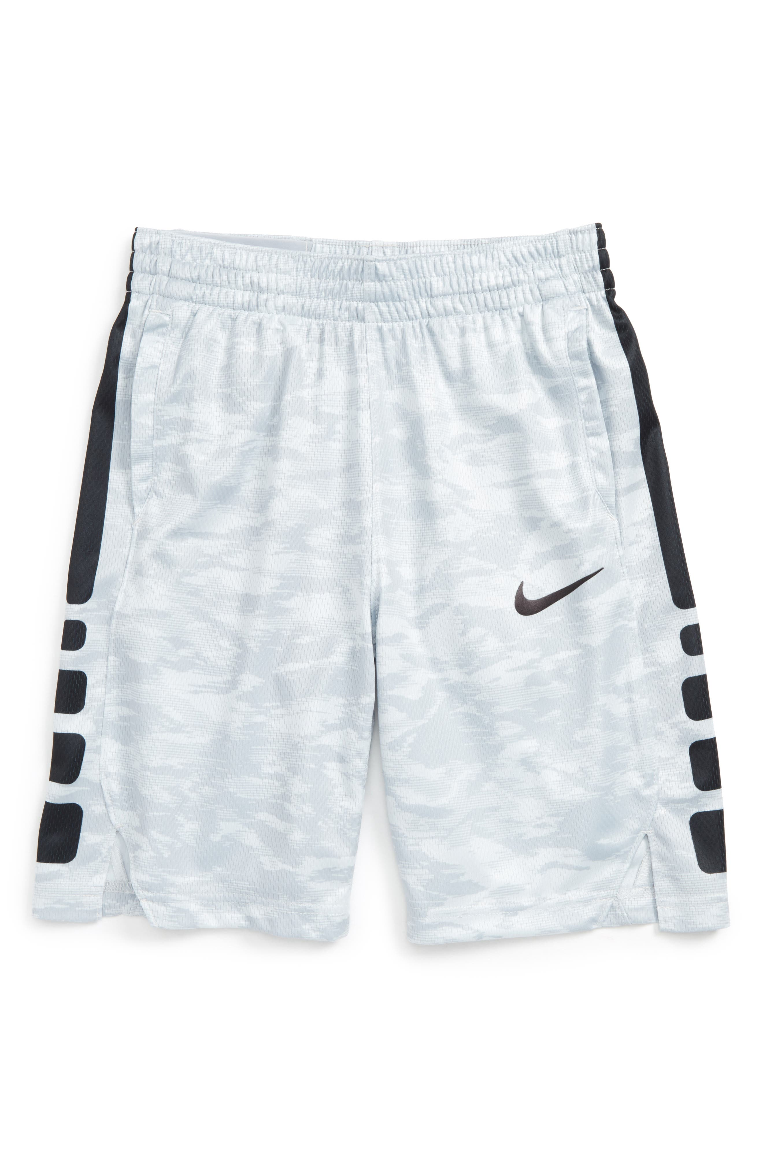 Dry Elite Basketball Shorts,                         Main,                         color, Wlfgry/ Black
