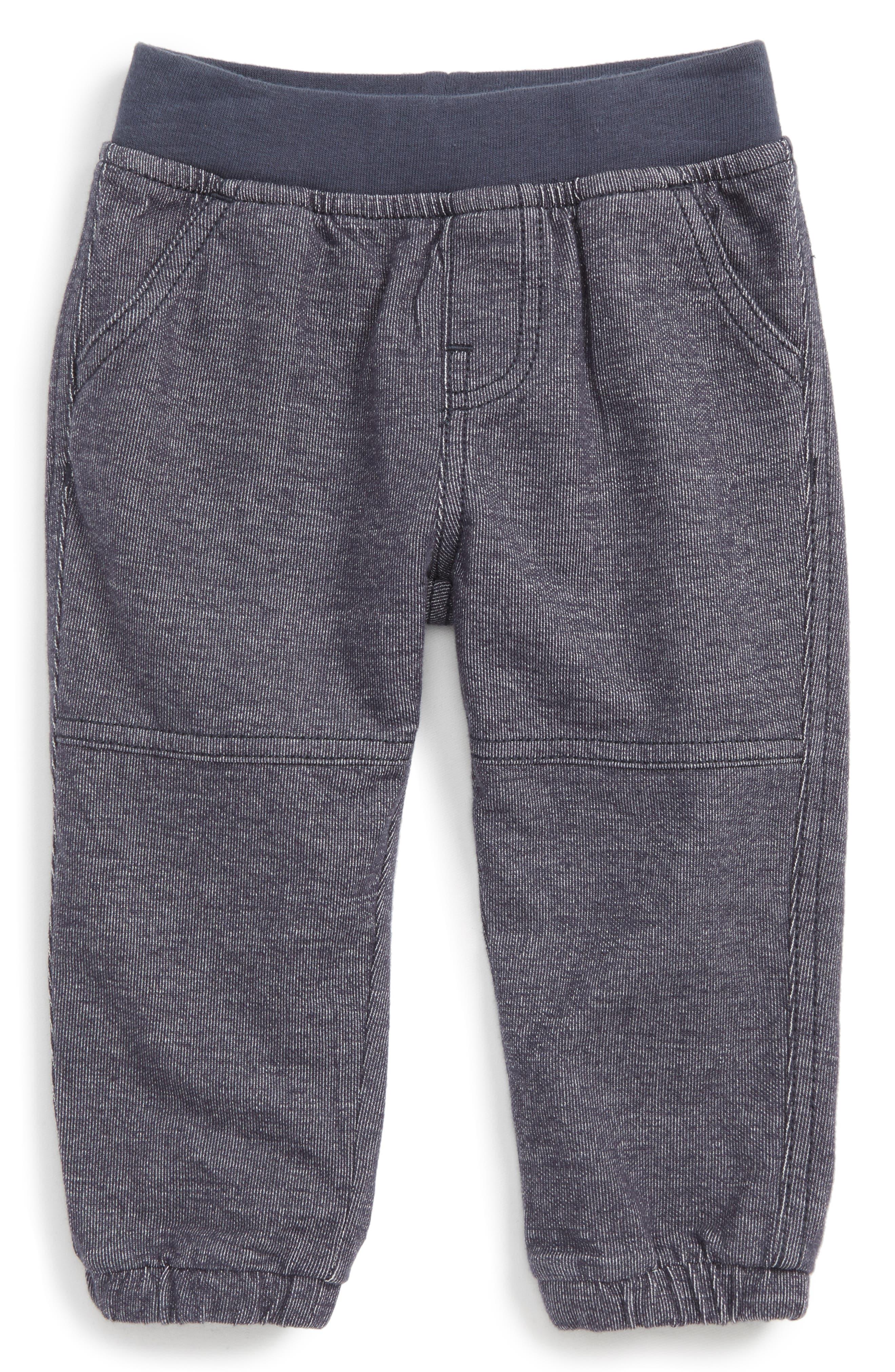 Denim Look Pants,                         Main,                         color, Indigo