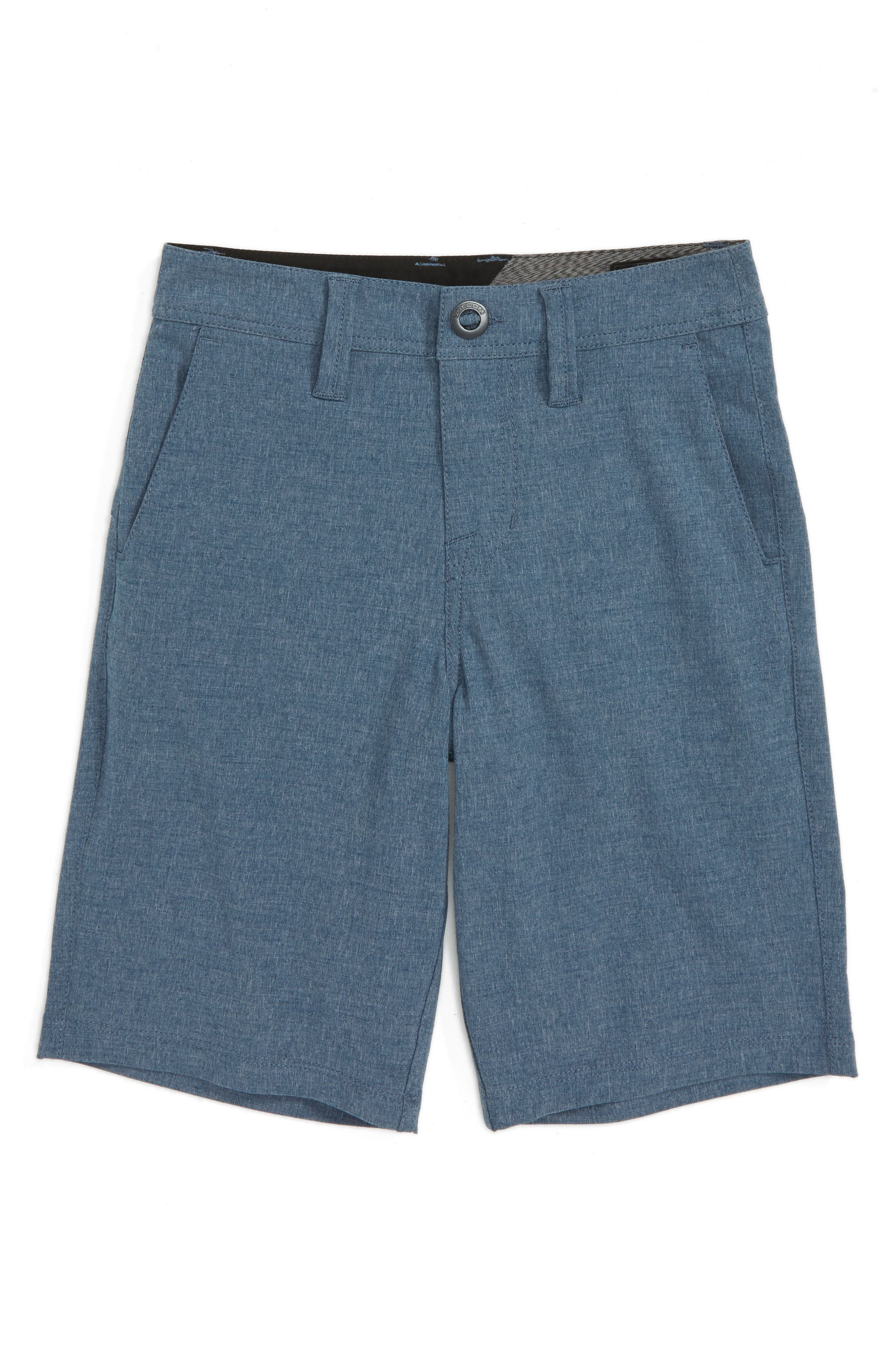 Surf N' Turf Static Hybrid Shorts,                         Main,                         color, Indigo
