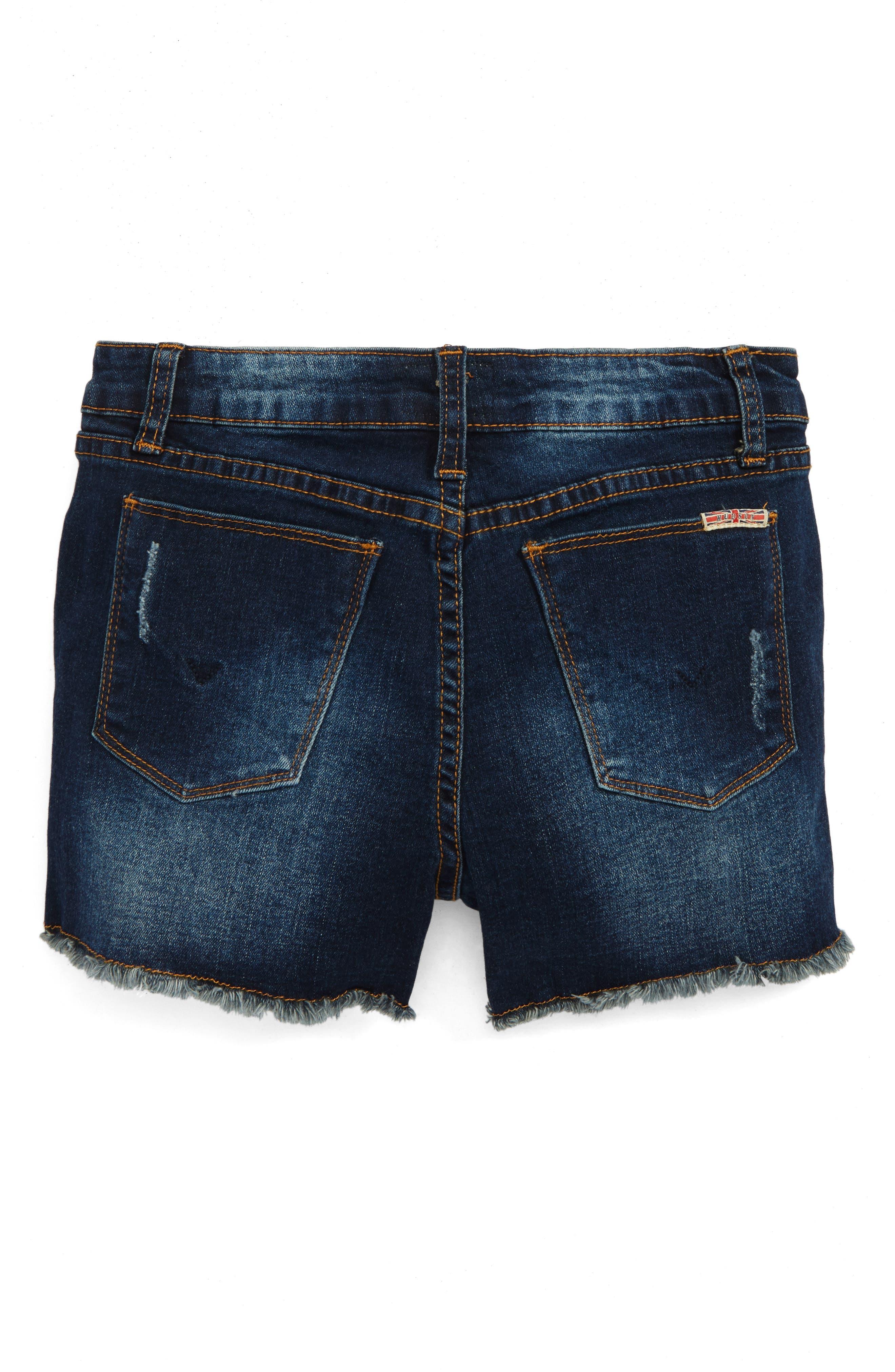 Alternate Image 1 Selected - Hudson Kids Frayed Shorts (Big Girls)