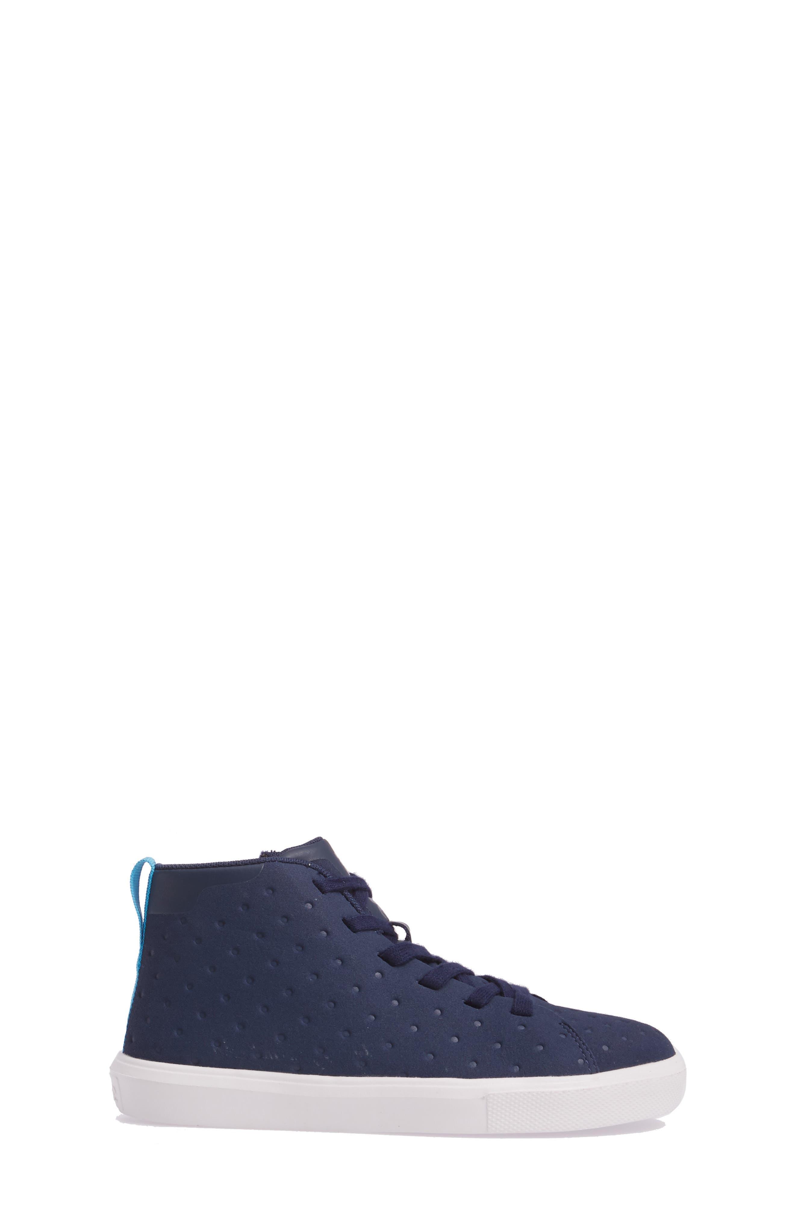 Native Monaco Sneaker,                             Alternate thumbnail 3, color,                             Regatta Blue/ Shell White