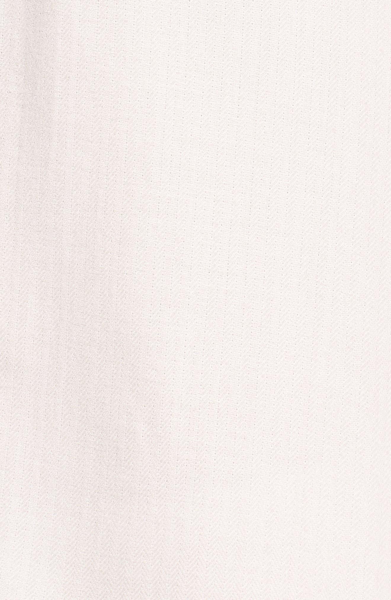 Raven Herringbone Pajamas,                             Alternate thumbnail 6, color,                             Ivory