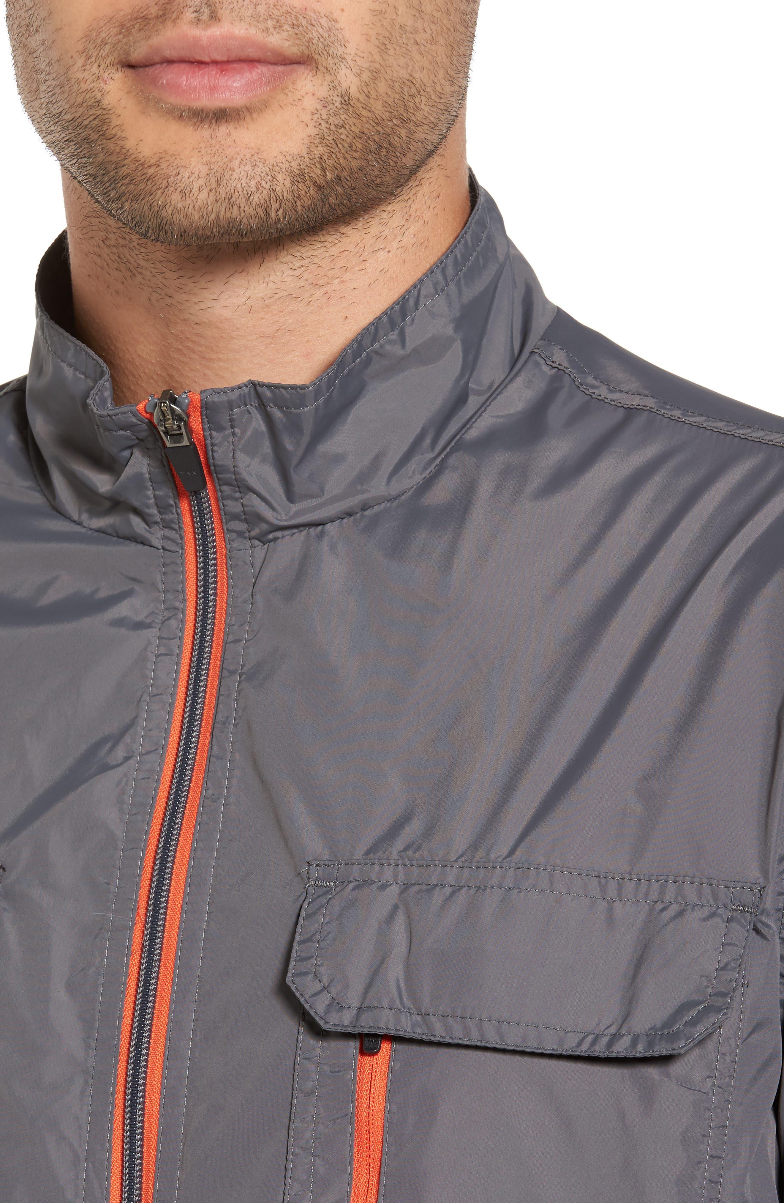 Staple Jacket,                             Alternate thumbnail 4, color,                             Grey