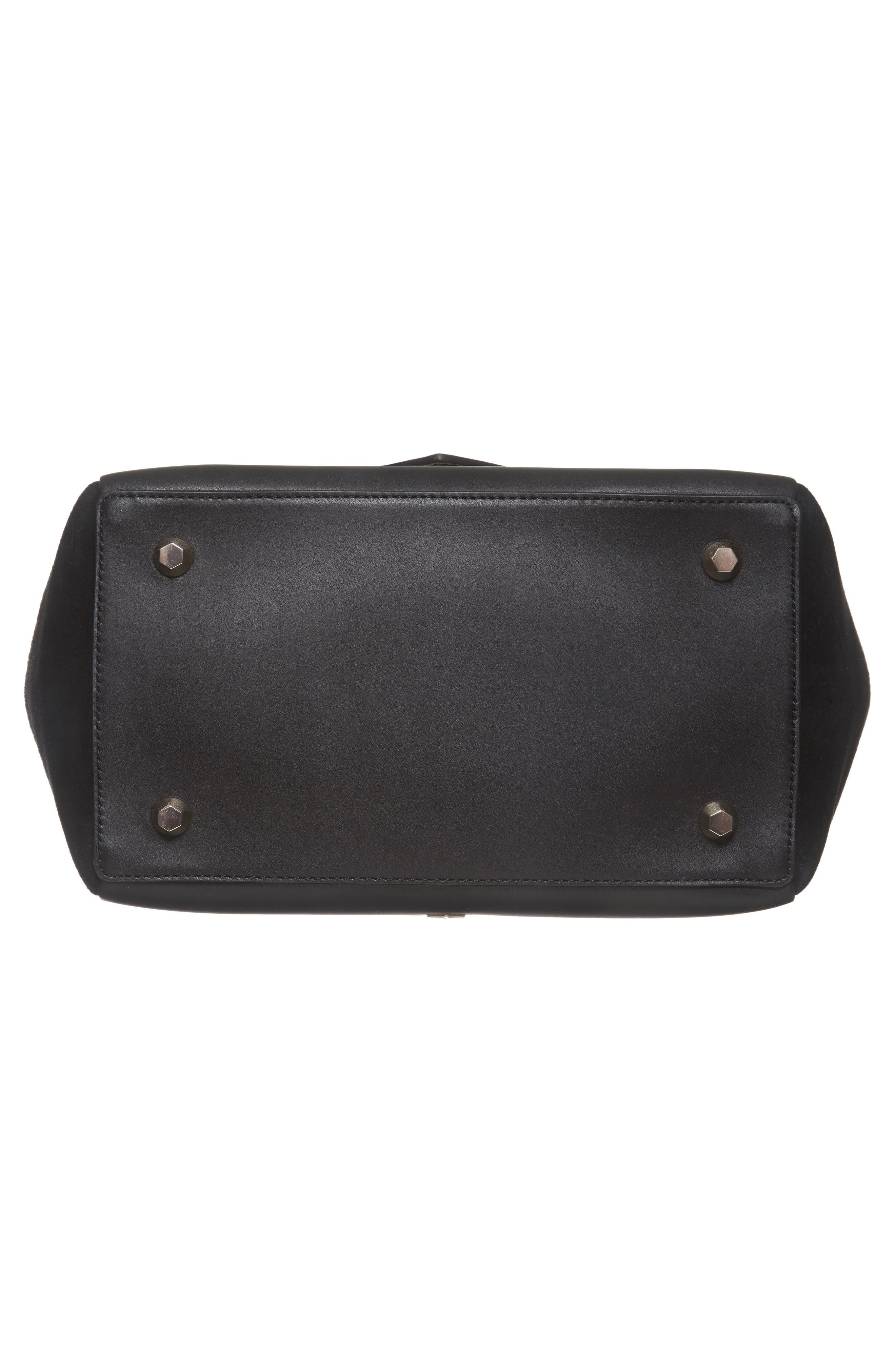 Alternate Image 6  - WELDEN Saunter Colorblocked Leather & Suede Top Handle Satchel