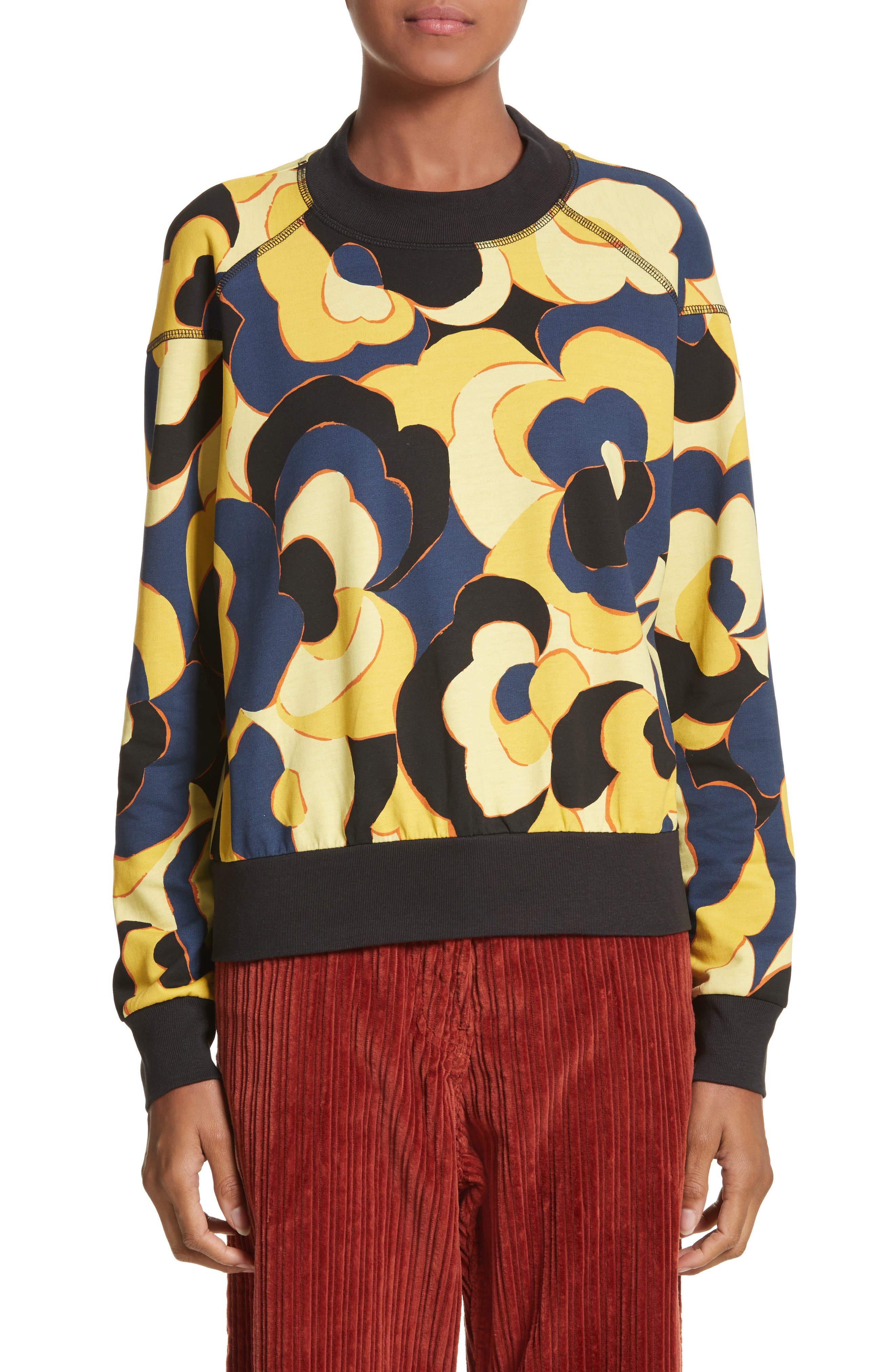 Dries Van Noten Hardmon Print Sweatshirt