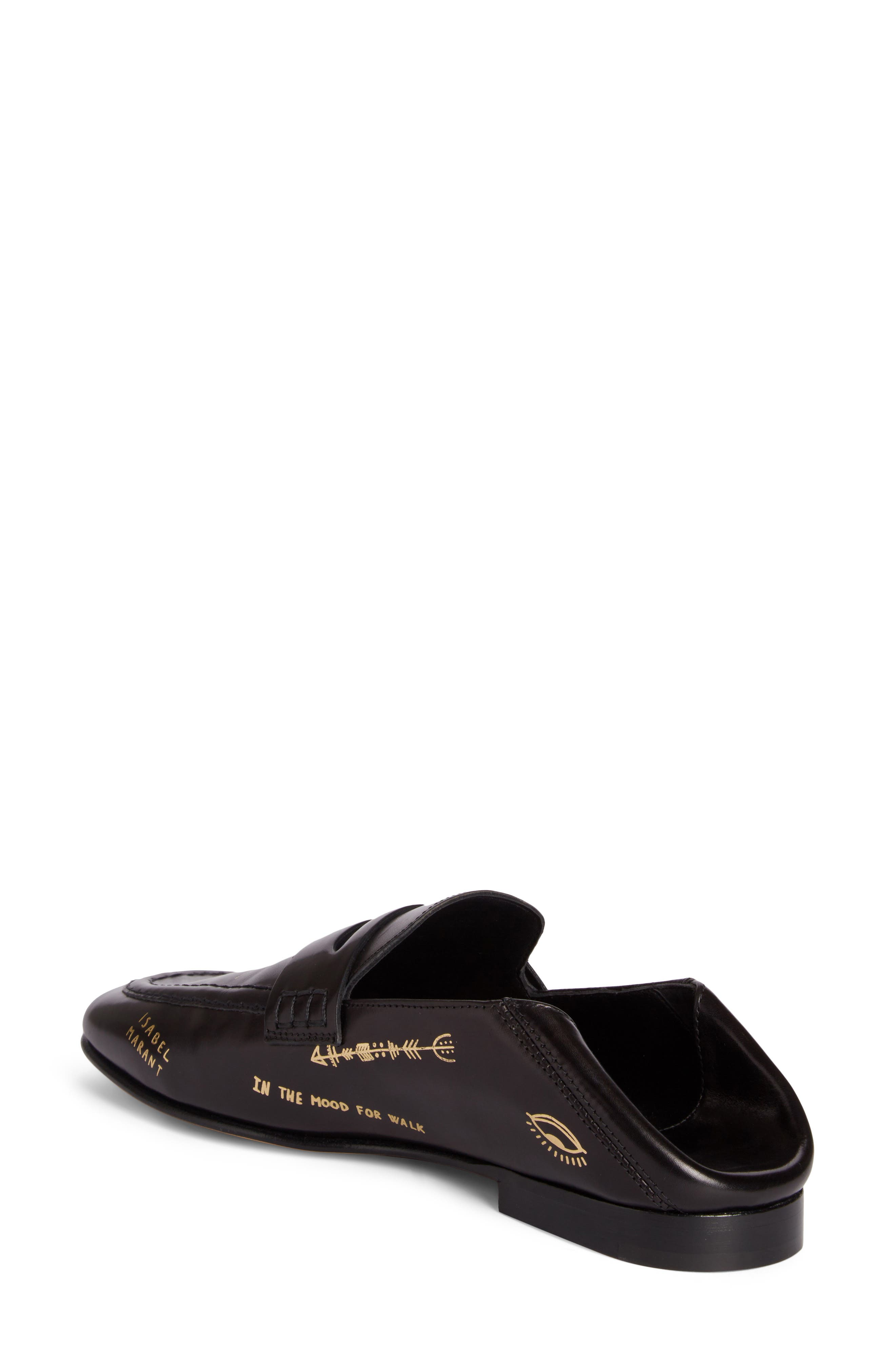 Alternate Image 3  - Isabel Marant Fezzy Print Convertible Loafer (Women)