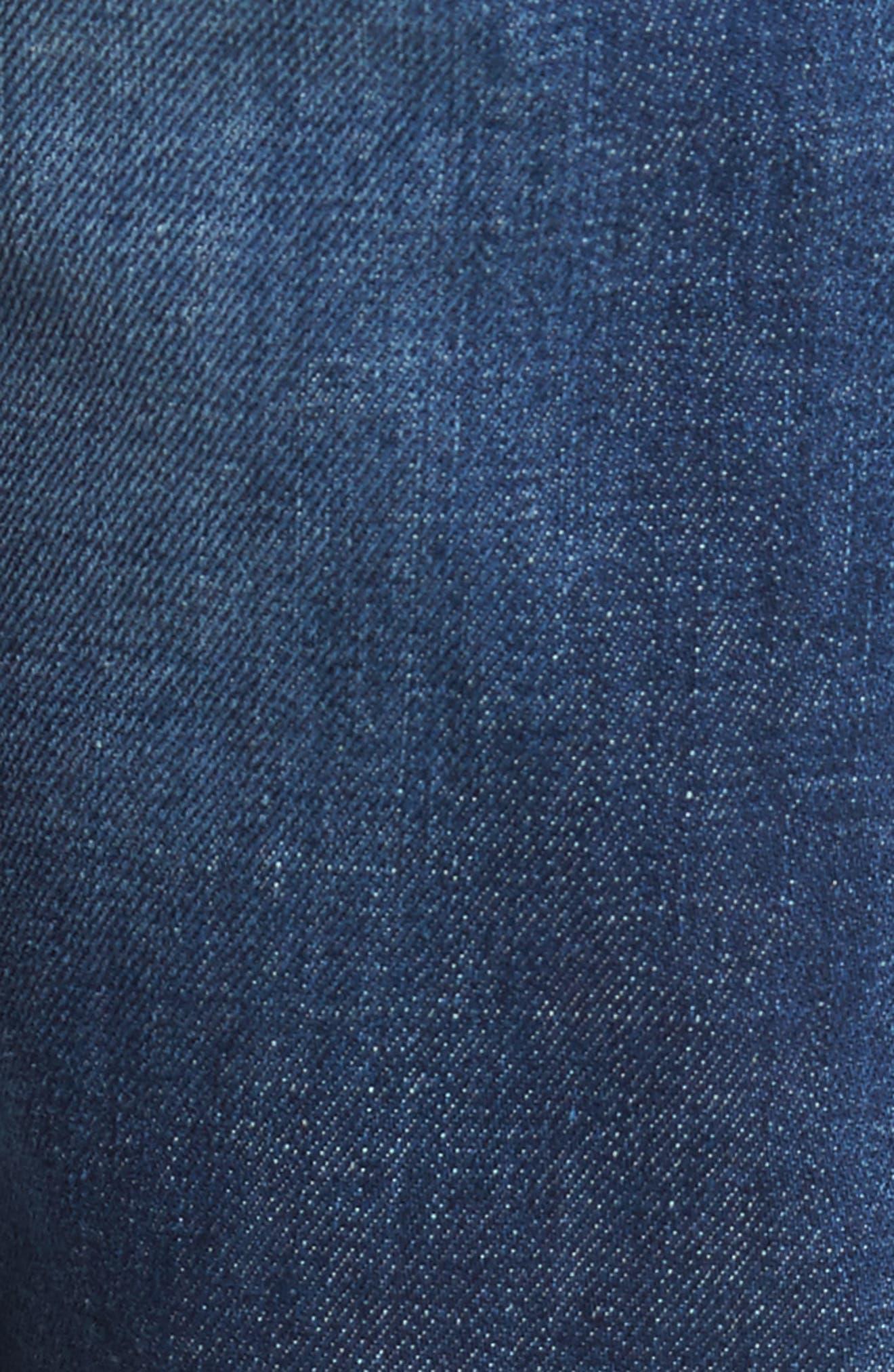 Alternate Image 5  - DIESEL® Buster Slim Straight Leg Jeans (084GR)
