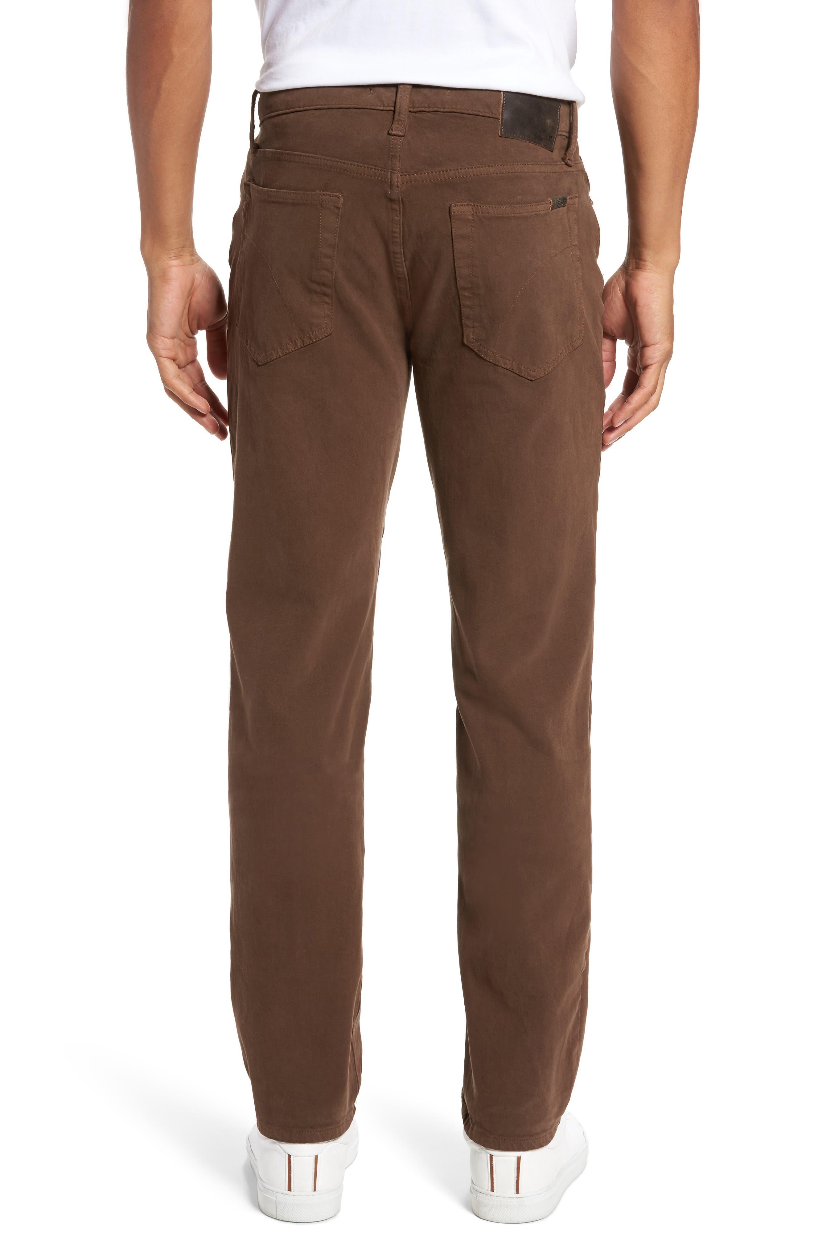 Alternate Image 2  - Joe's Brixton Slim Straight Fit Jeans (Dark Walnut)