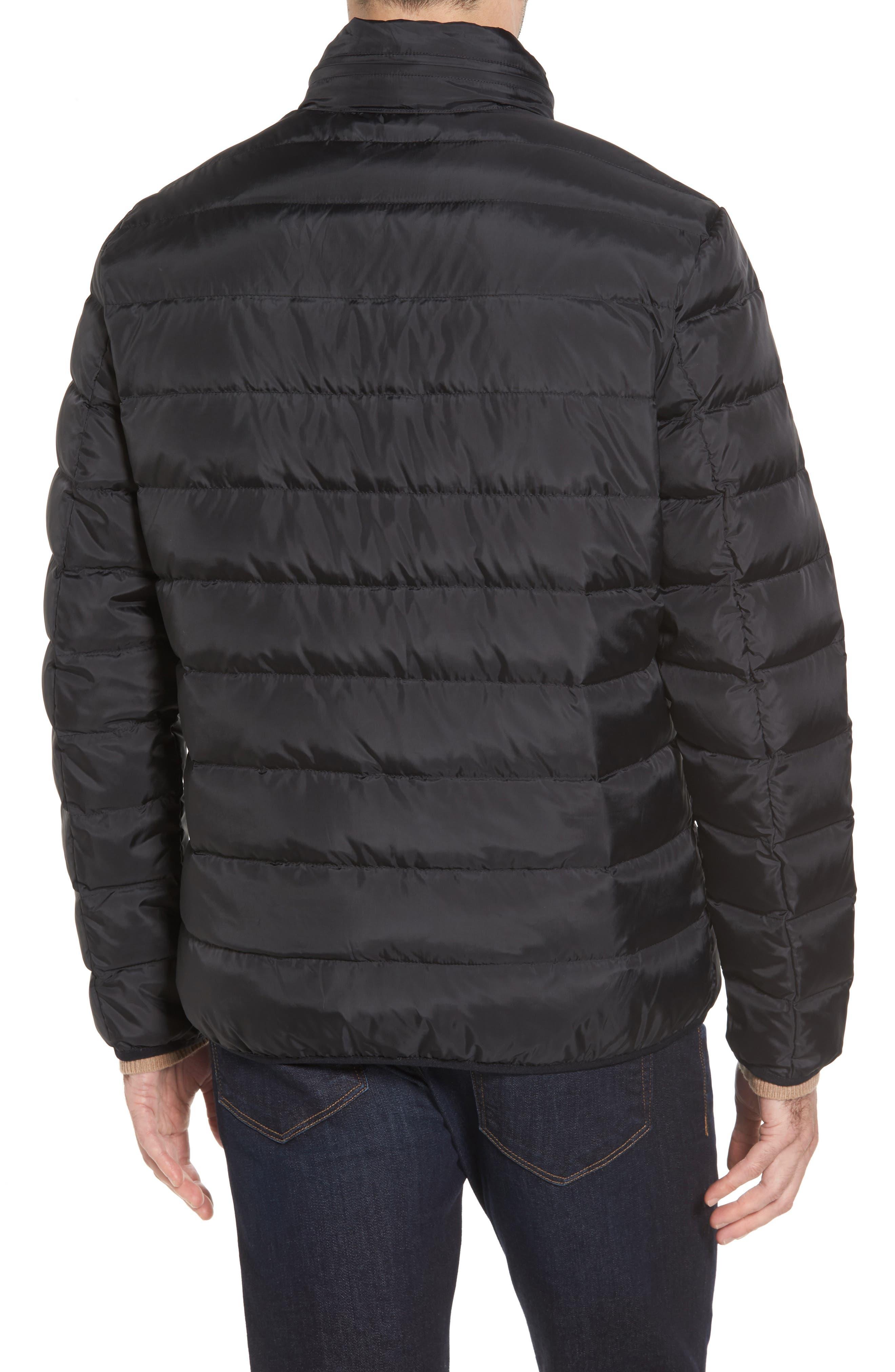 Packable Down Jacket,                             Alternate thumbnail 2, color,                             Black