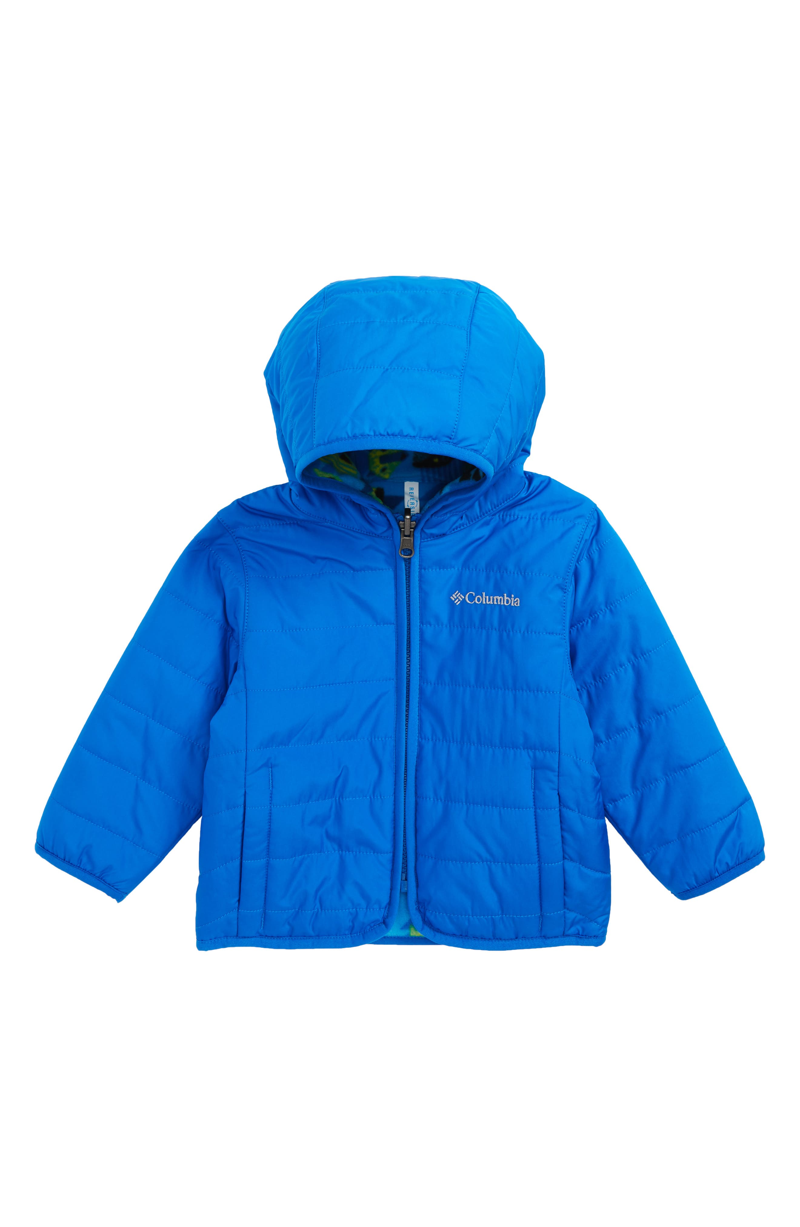 Columbia Double Trouble Omni-Shield Reversible Water-Resistant Hooded Jacket (Baby Boys)