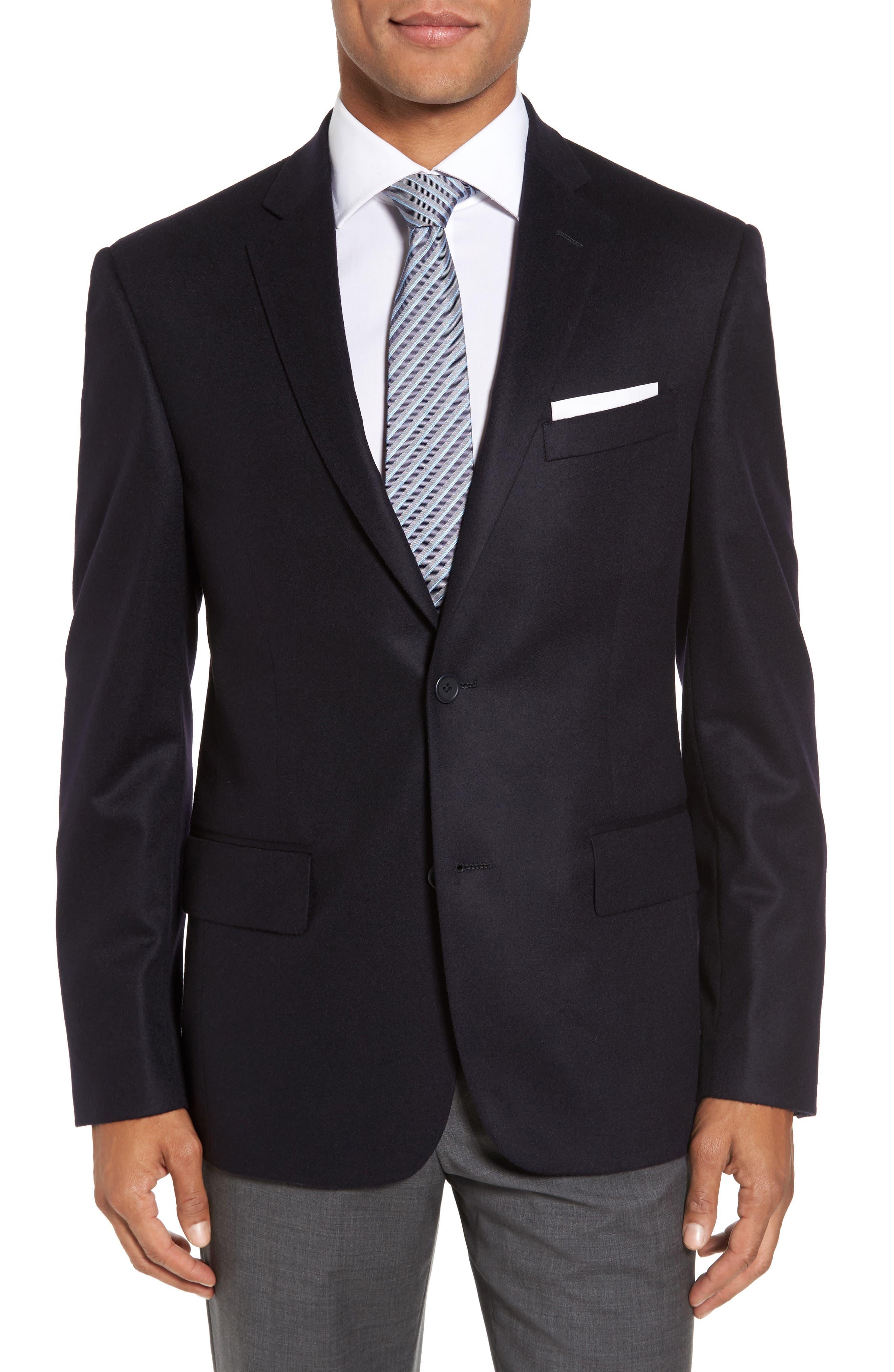 Alternate Image 1 Selected - Nordstrom Men's Shop Classic Fit Cashmere Blazer