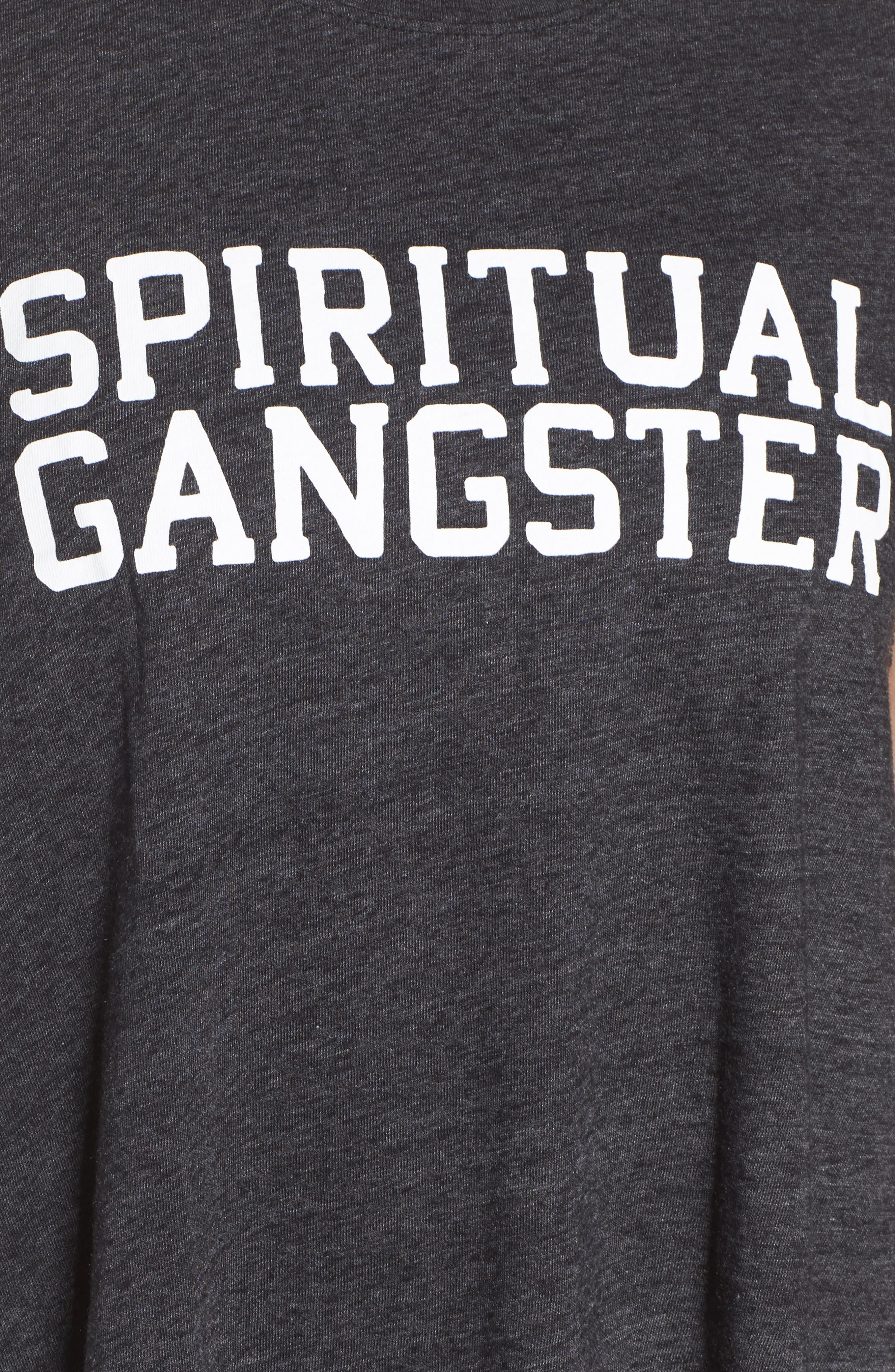 Alternate Image 6  - Spiritual Gangster Varsity Crop Tank