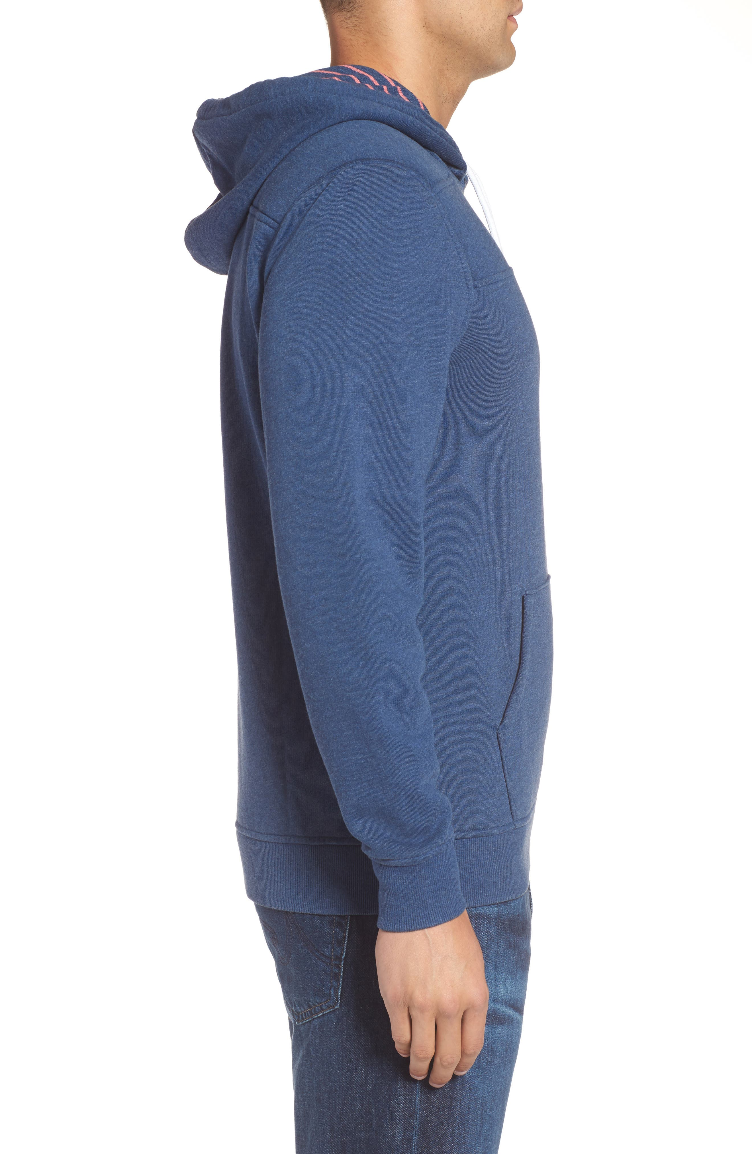 Alternate Image 3  - vineyard vines Washed Cotton Pullover Hoodie