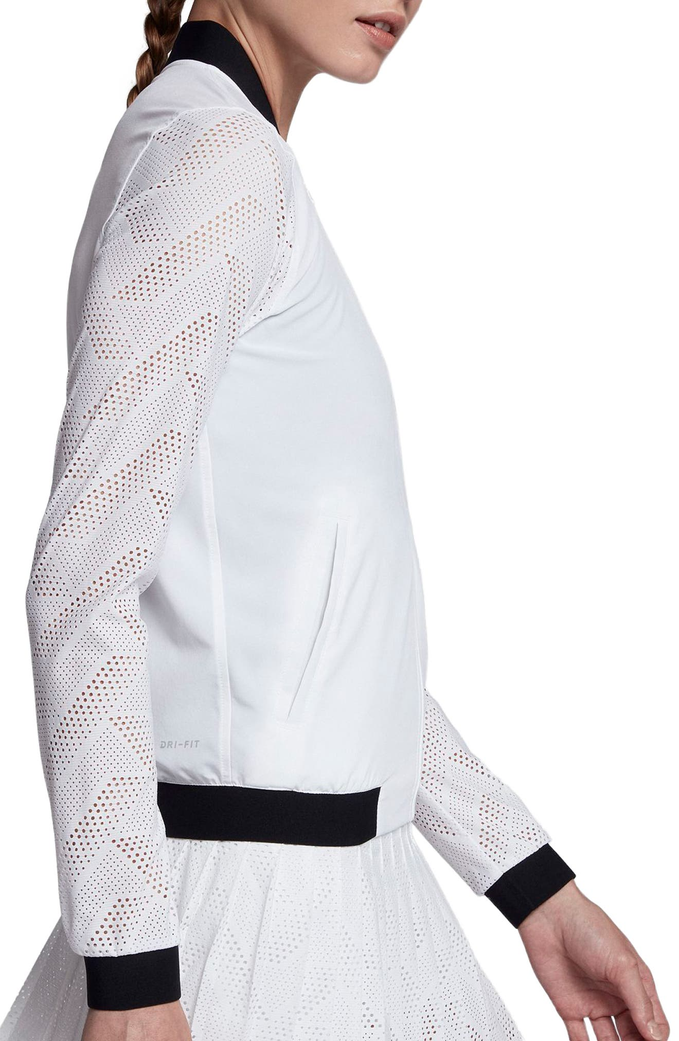 Alternate Image 3  - Nike NikeCourt Maria Tennis Jacket