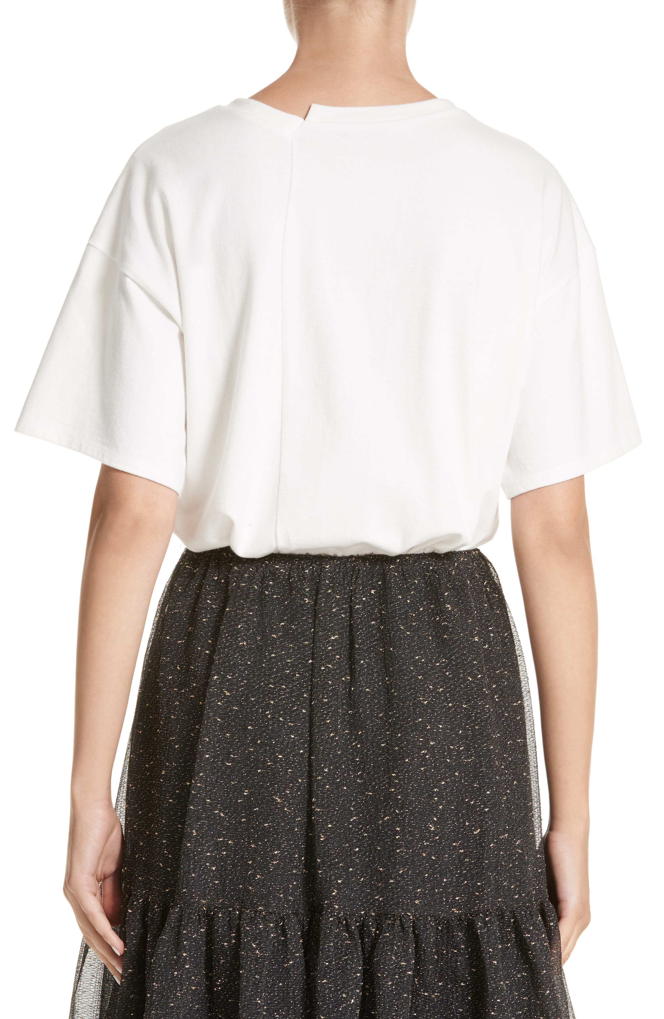 Alternate Image 2  - Rejina Pyo Asymmetrical Side Pleat Tee