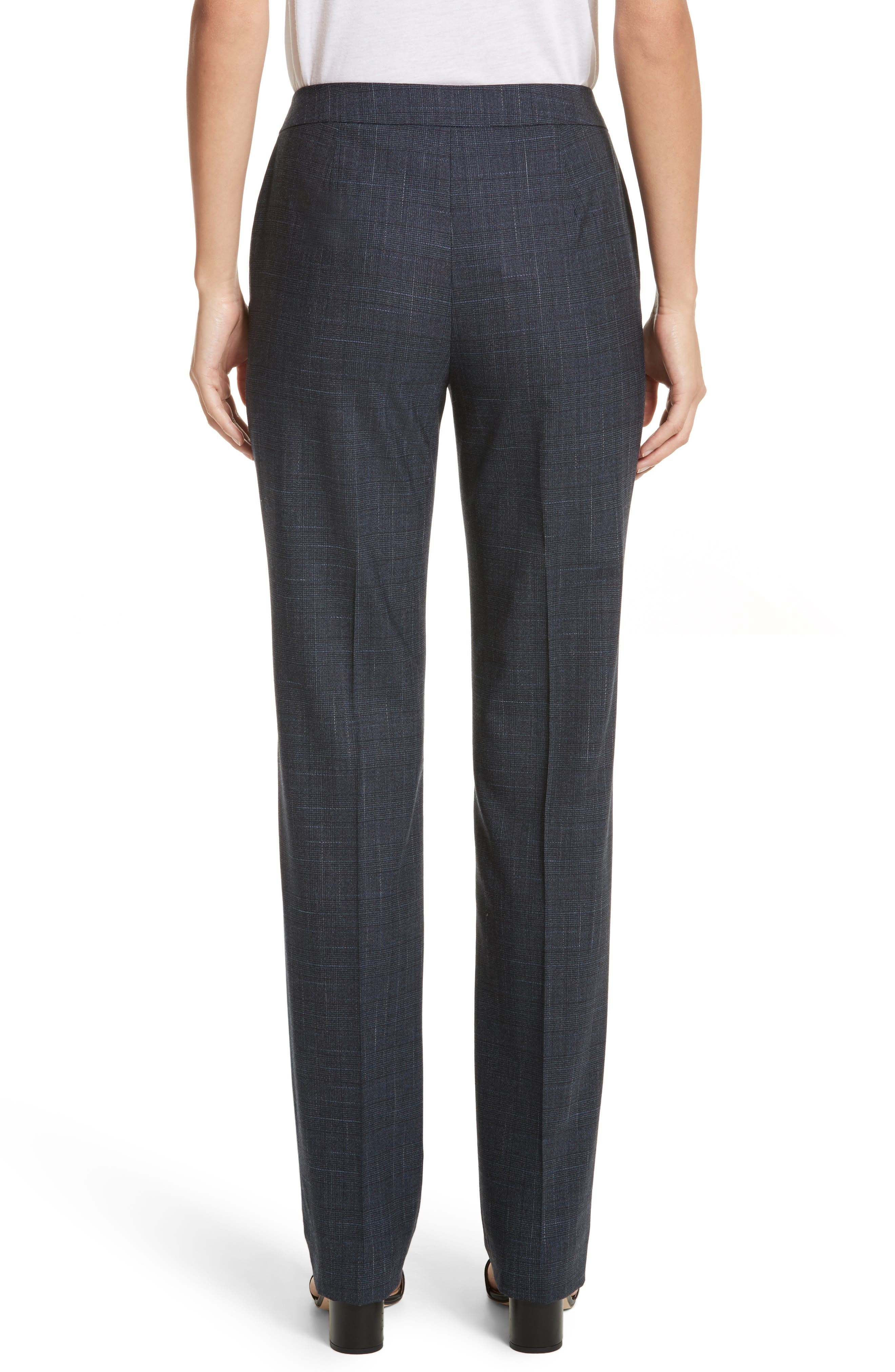 Barrow Stretch Wool Pants,                             Alternate thumbnail 2, color,                             Ink Multi