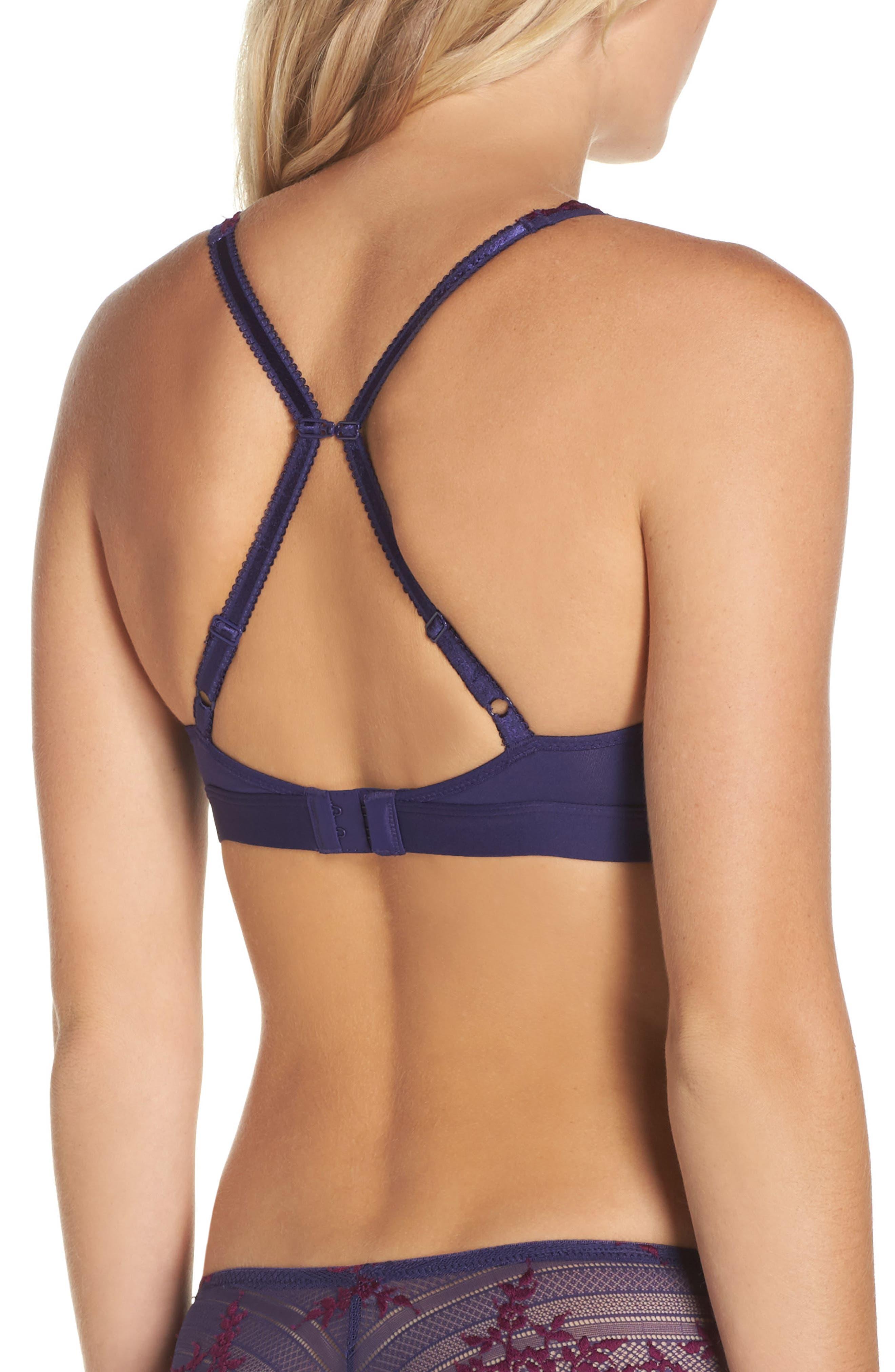 Alternate Image 7  - Wacoal 'Embrace Lace' Deep-V Bralette