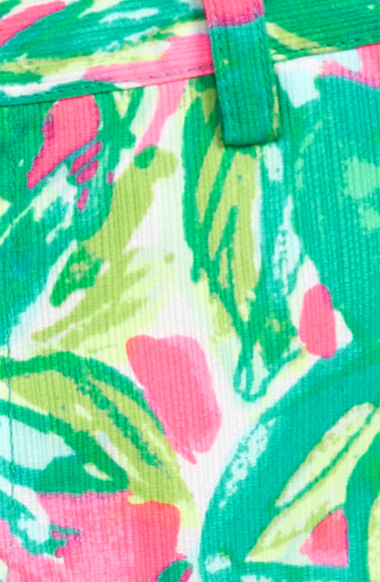 Lily Pulitzer Beaumont Print Shorts,                             Alternate thumbnail 2, color,                             Pink Sunset Guac And Roll