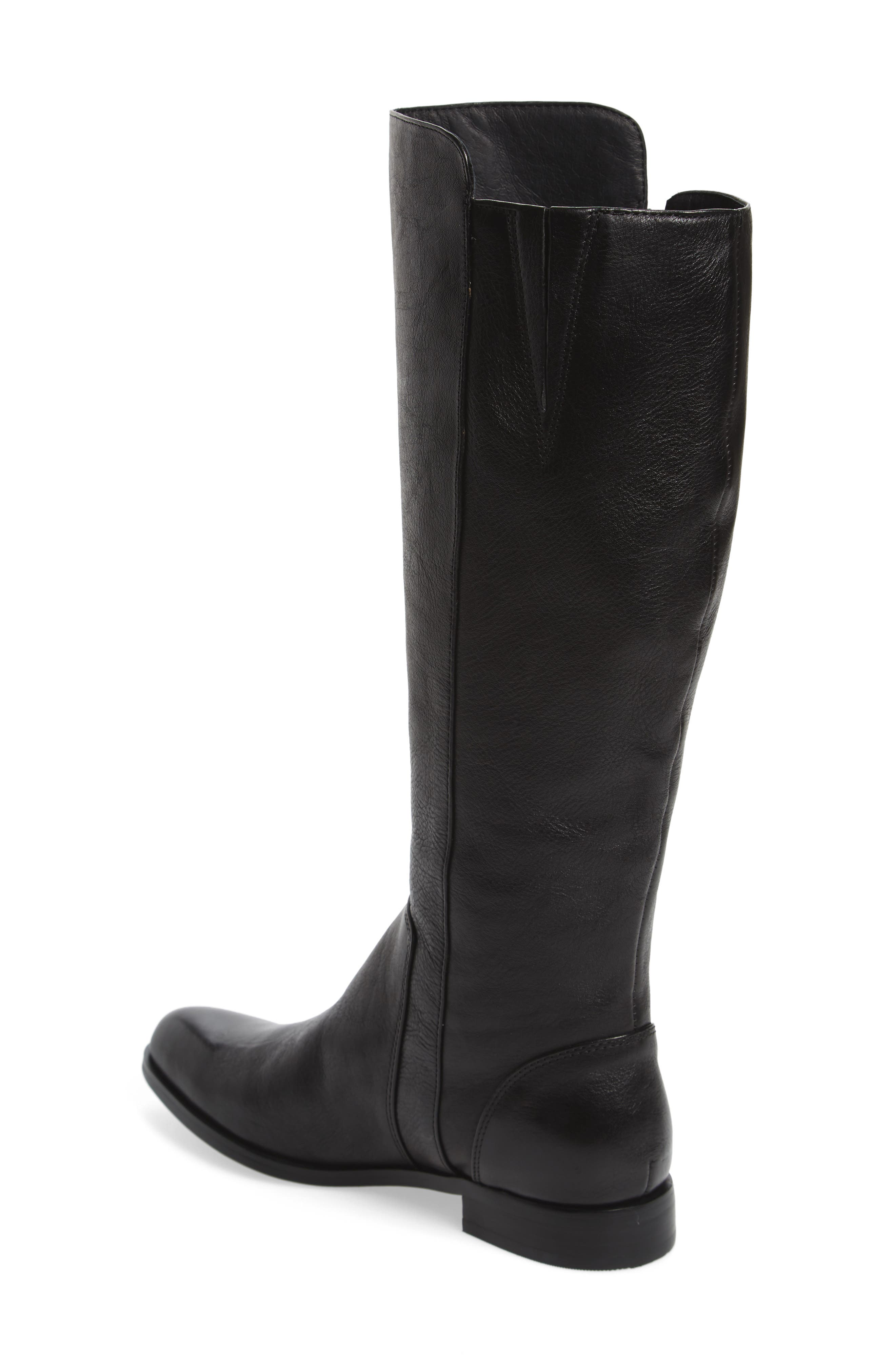 Melino Boot,                             Alternate thumbnail 2, color,                             Black Leather