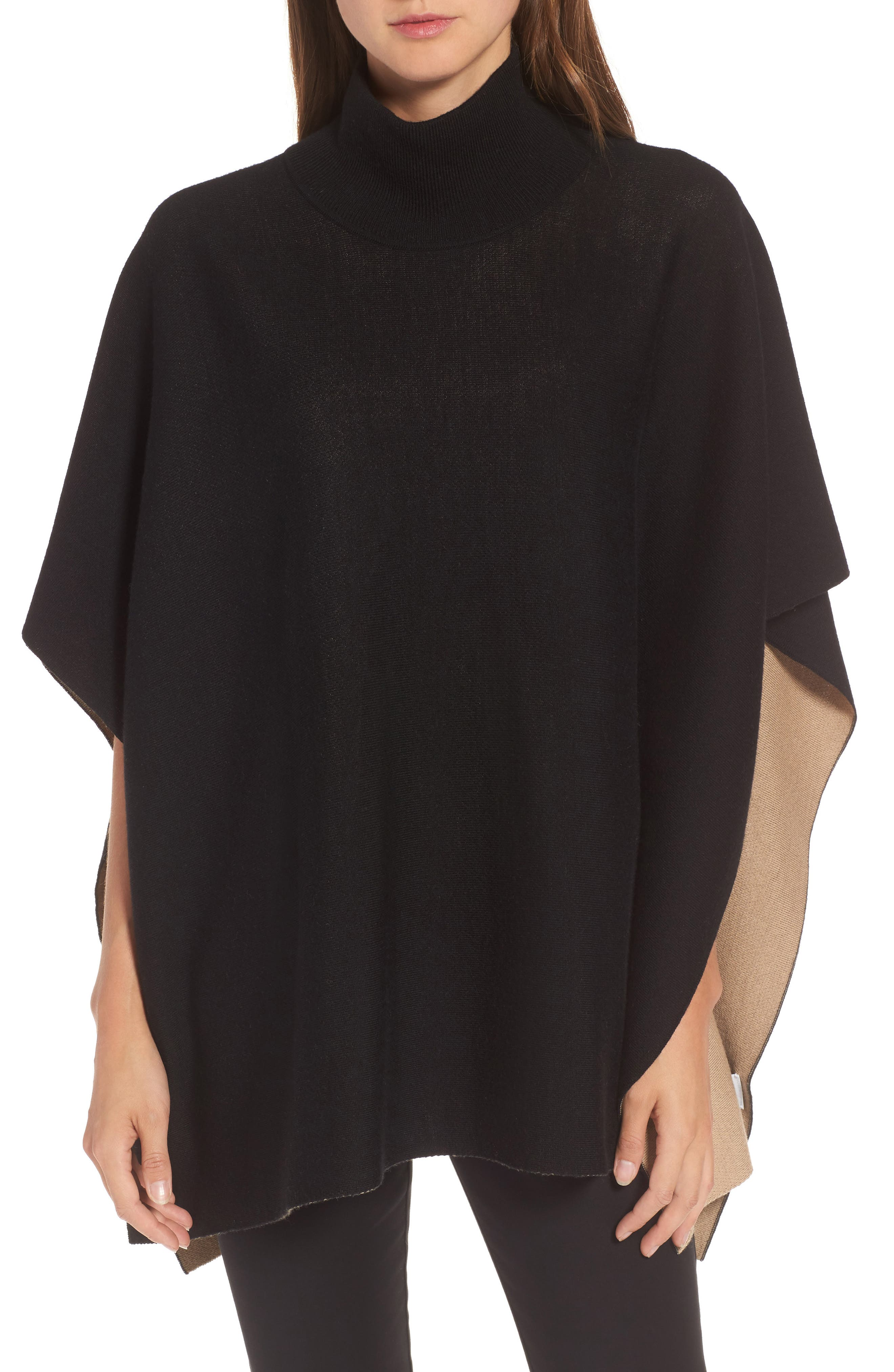 Alternate Image 1 Selected - BOSS Lilja Wool Poncho