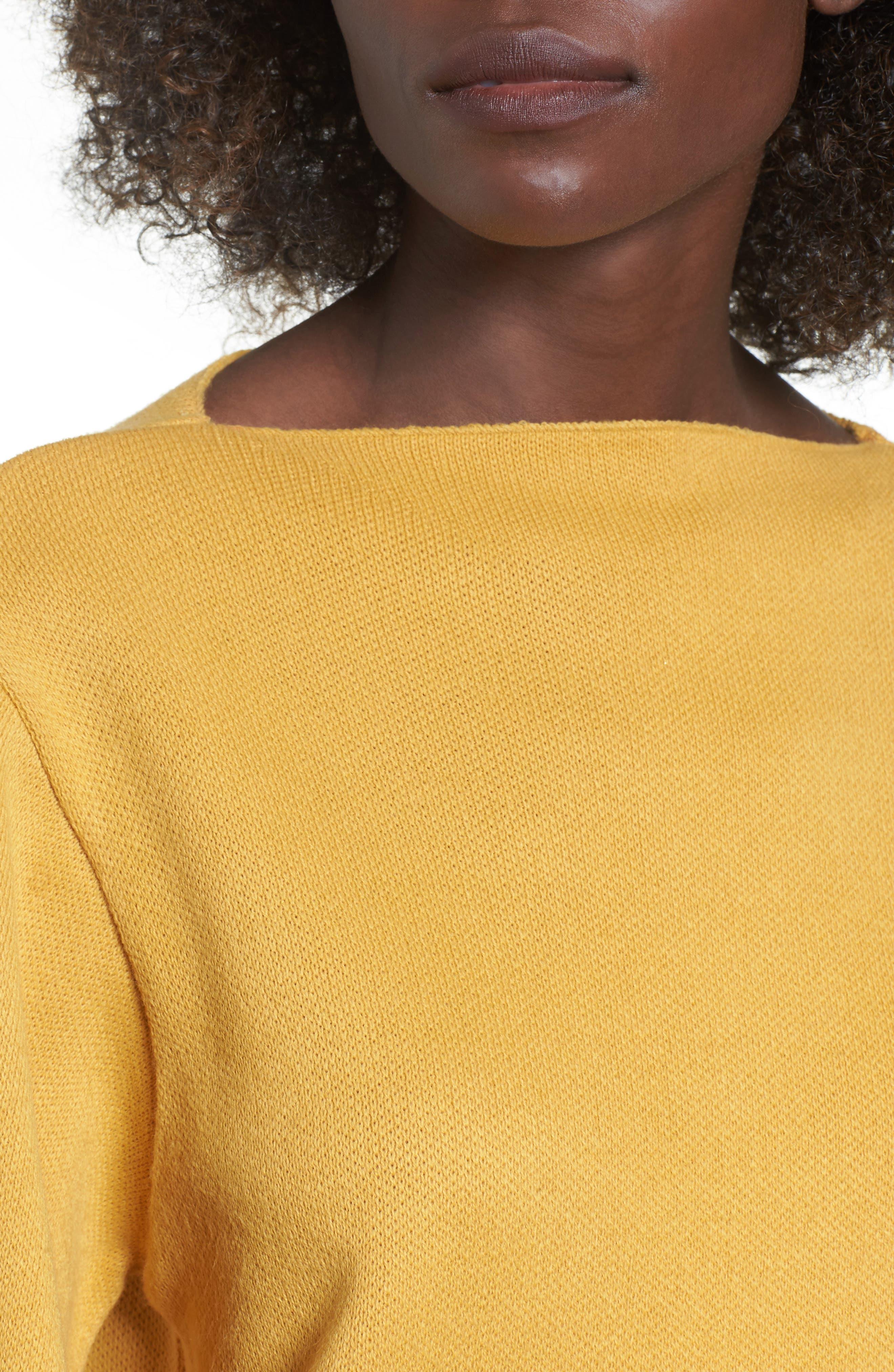 Alternate Image 5  - Topshop Balloon Sleeve Sweater