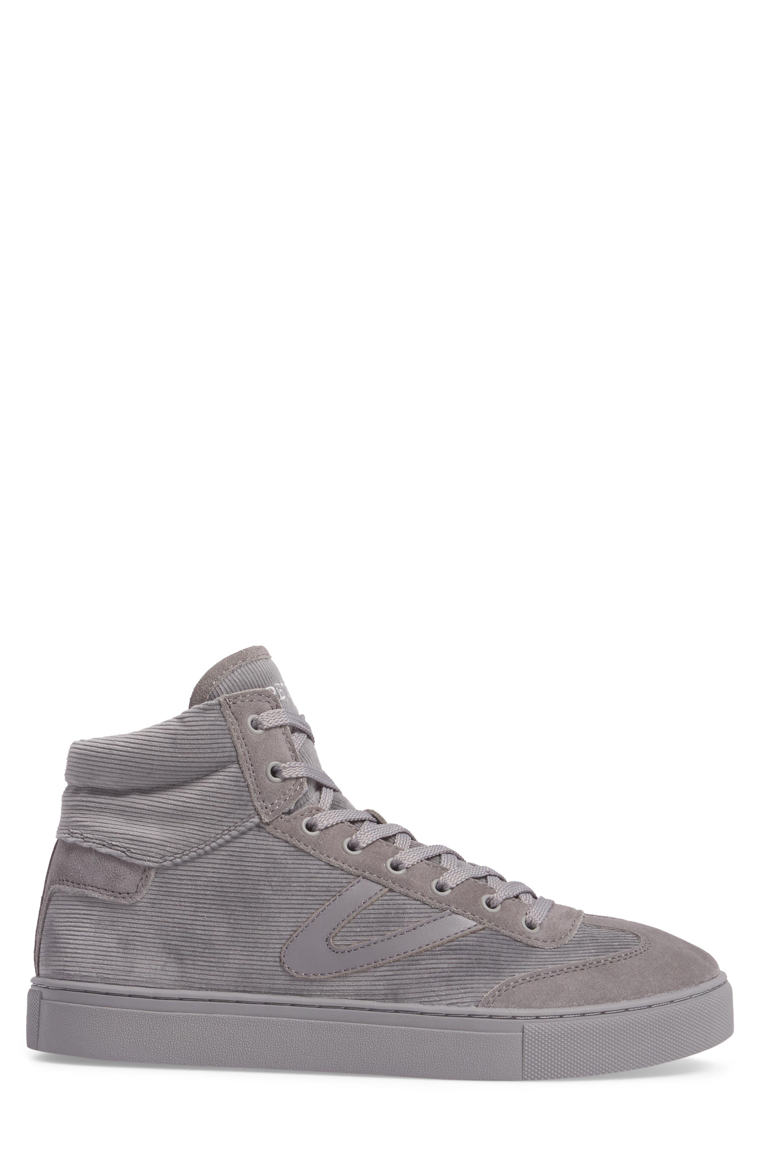 Jack High Top Sneaker,                             Alternate thumbnail 3, color,                             Grey/ Grey