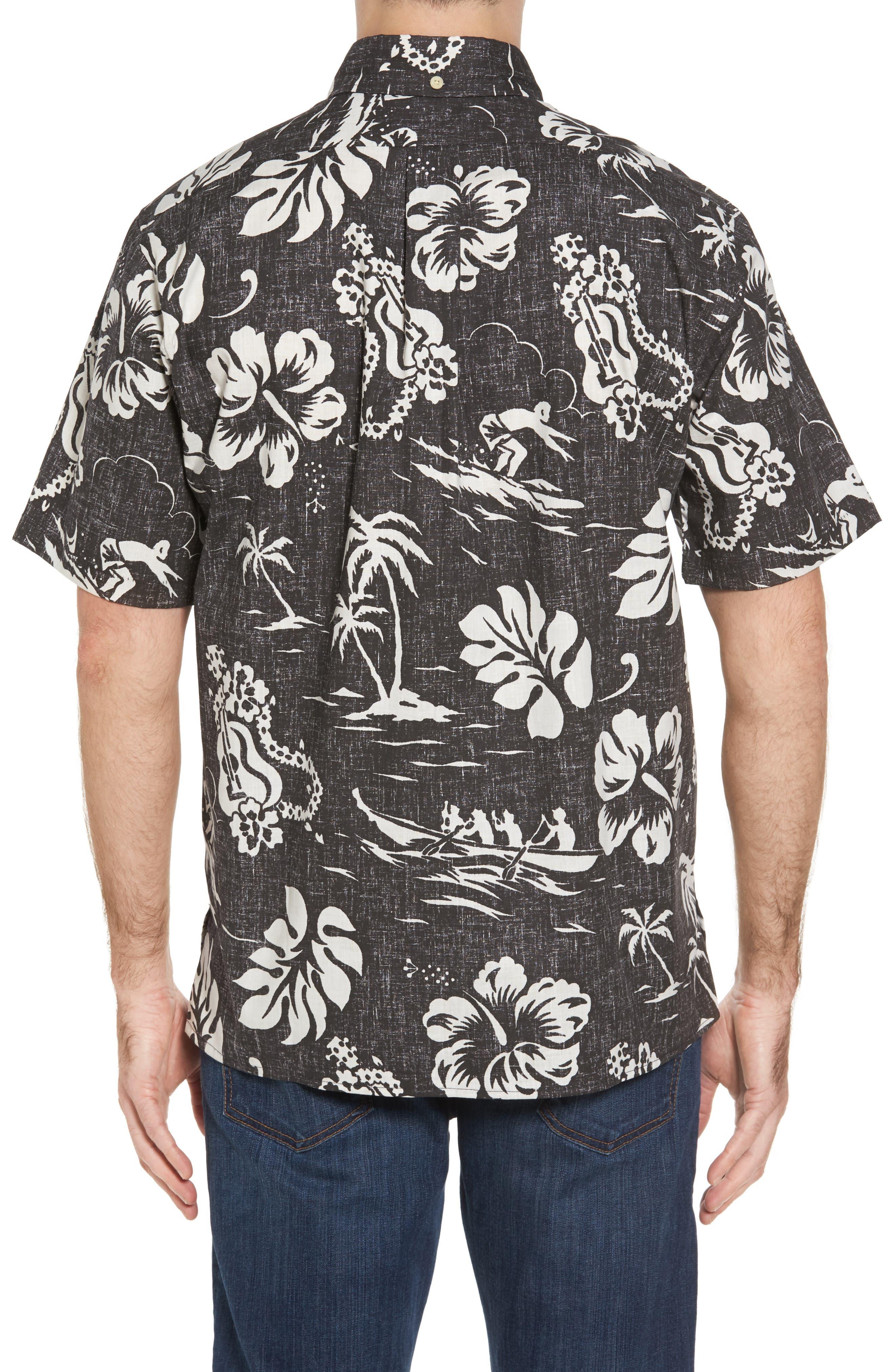 Alternate Image 2  - Reyn Spooner Quiet Lagoon Classic Fit Sport Shirt