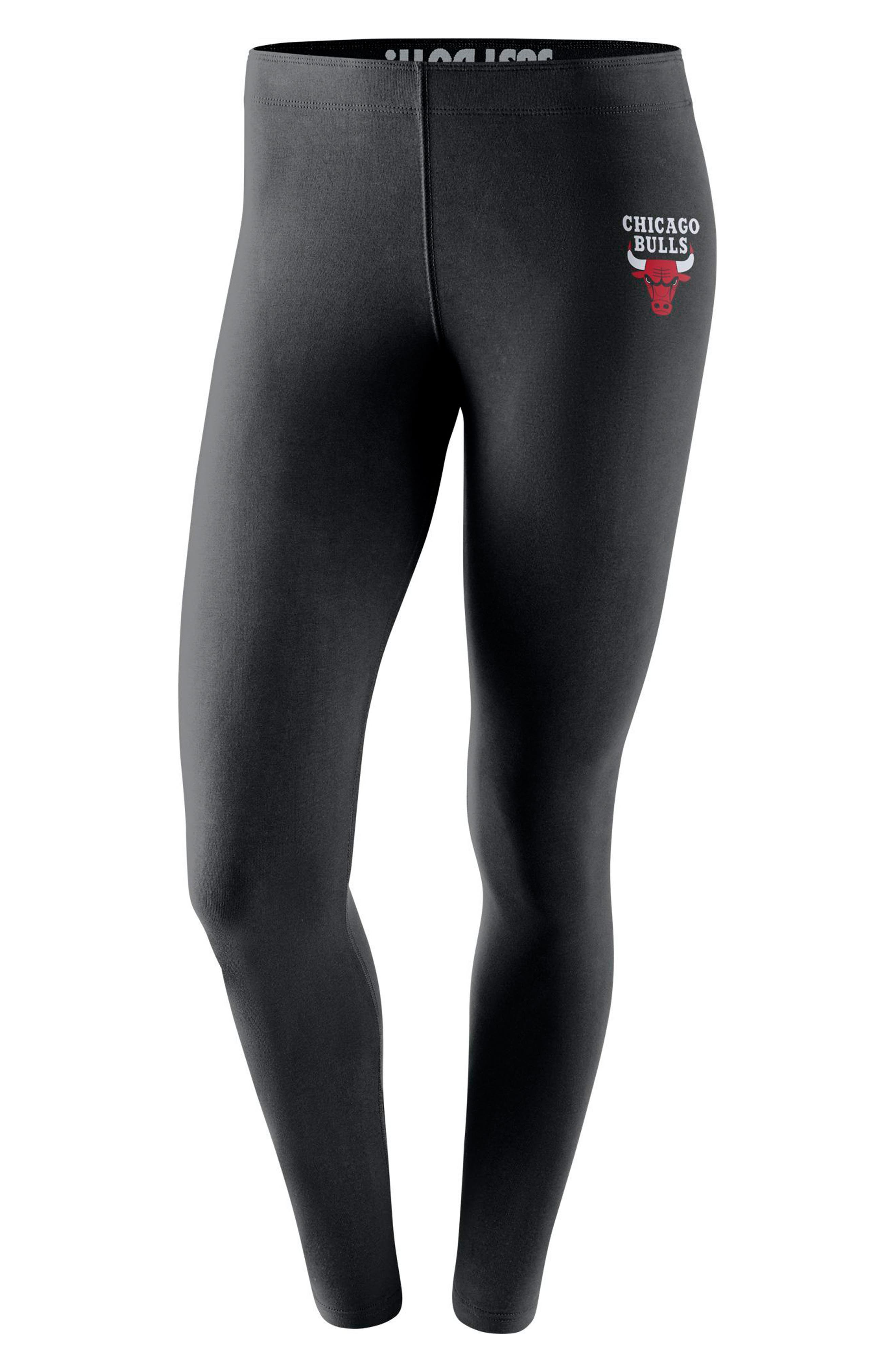 Alternate Image 1 Selected - Nike Chicago Bulls Leg-A-See Women's NBA Tights