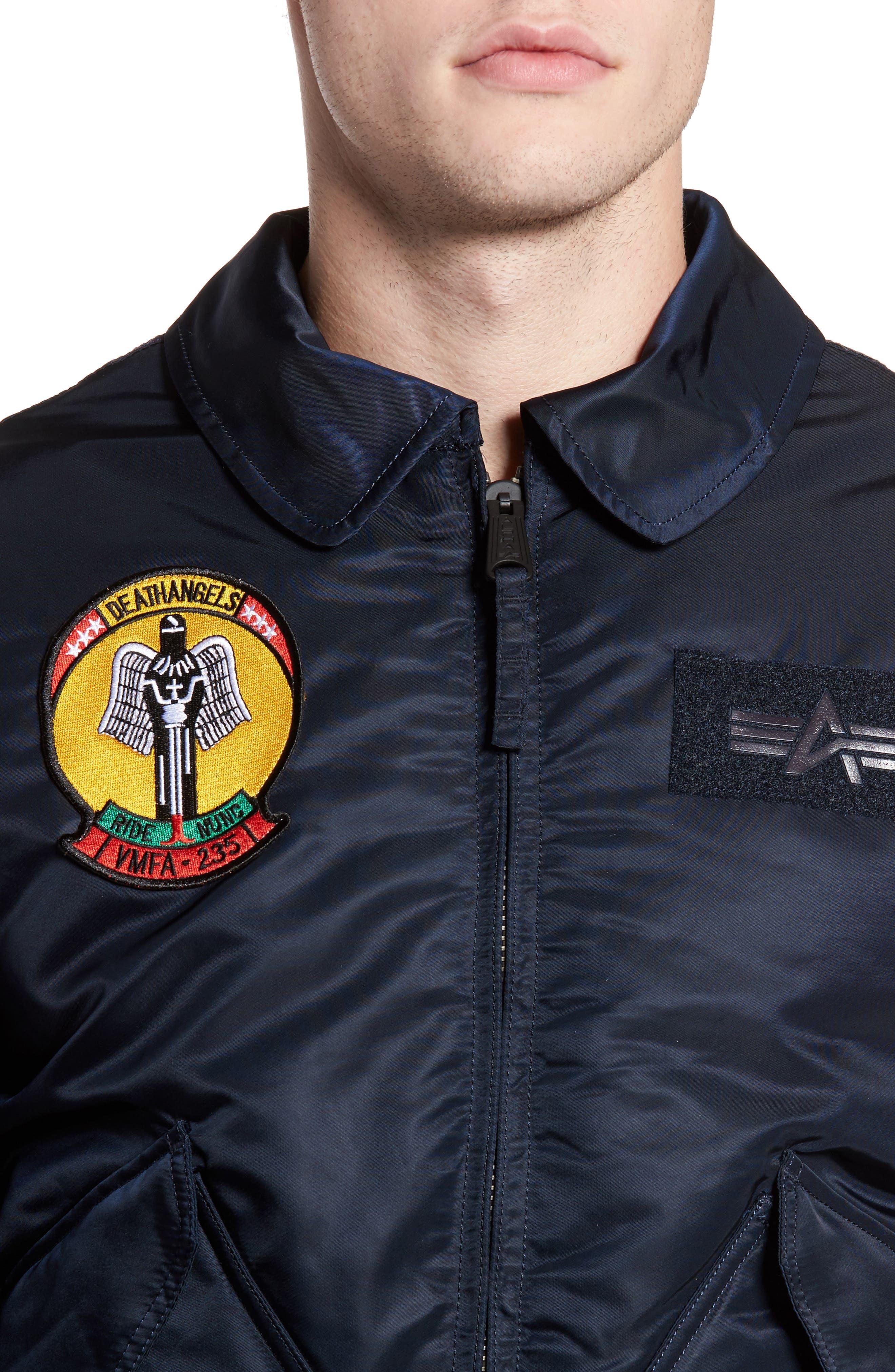 CWO 45/P Storm Cruise Jacket,                             Alternate thumbnail 4, color,                             Replica Blue