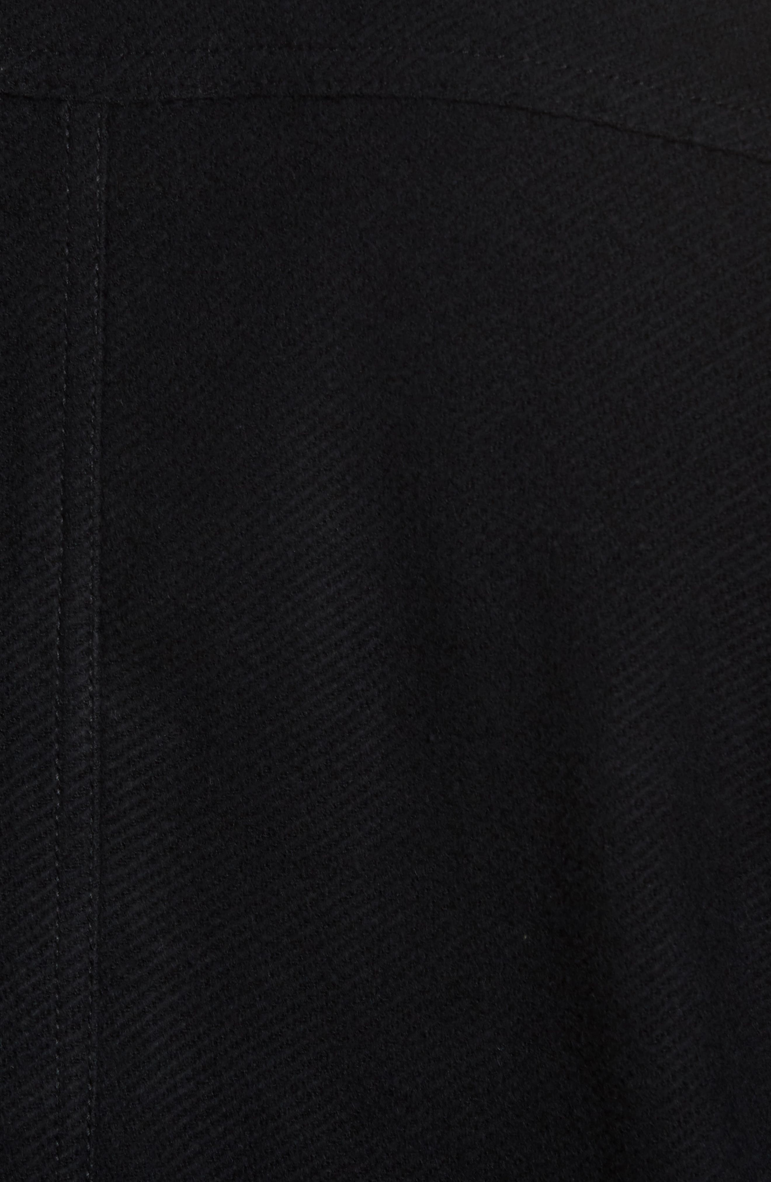 Alternate Image 5  - James Perse Drill Button Front Knit Jacket