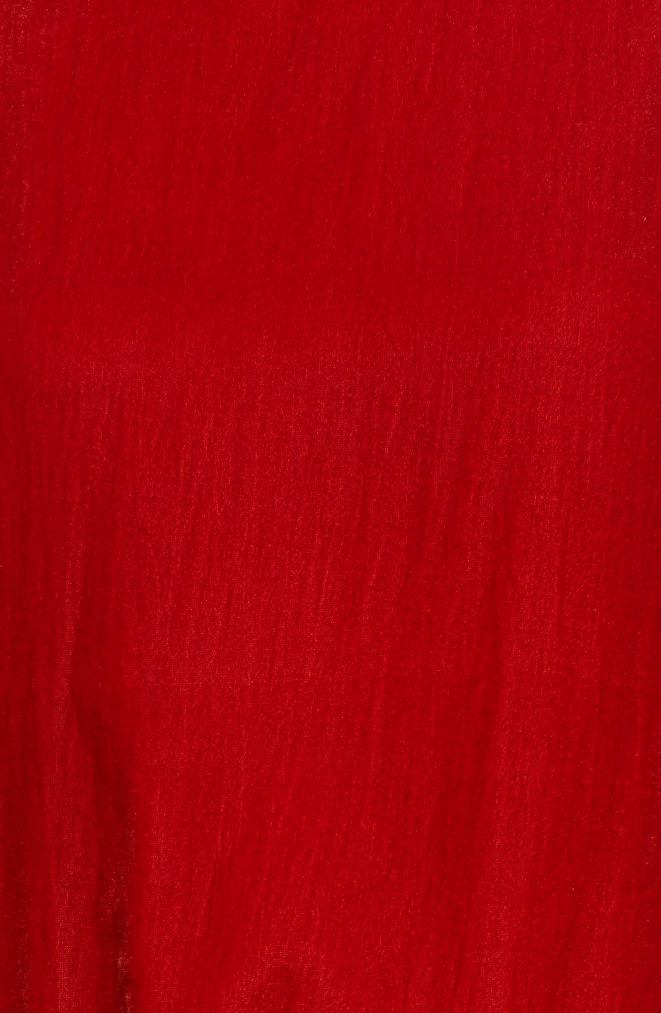 Alternate Image 5  - Kenneth Cole New York Zipper Velvet Sweatshirt