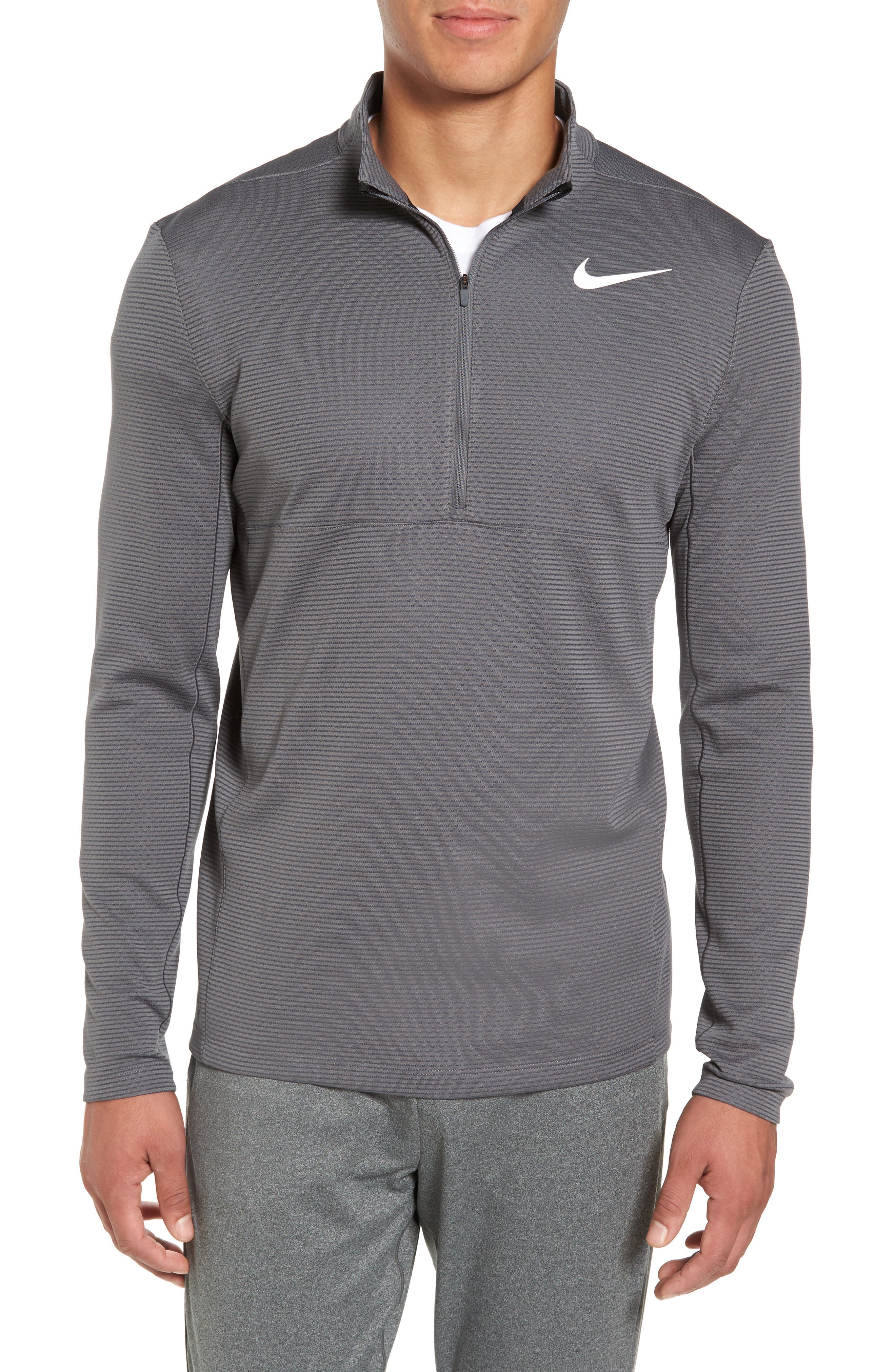 Main Image - Nike Arorct Quarter Zip Golf Pullover
