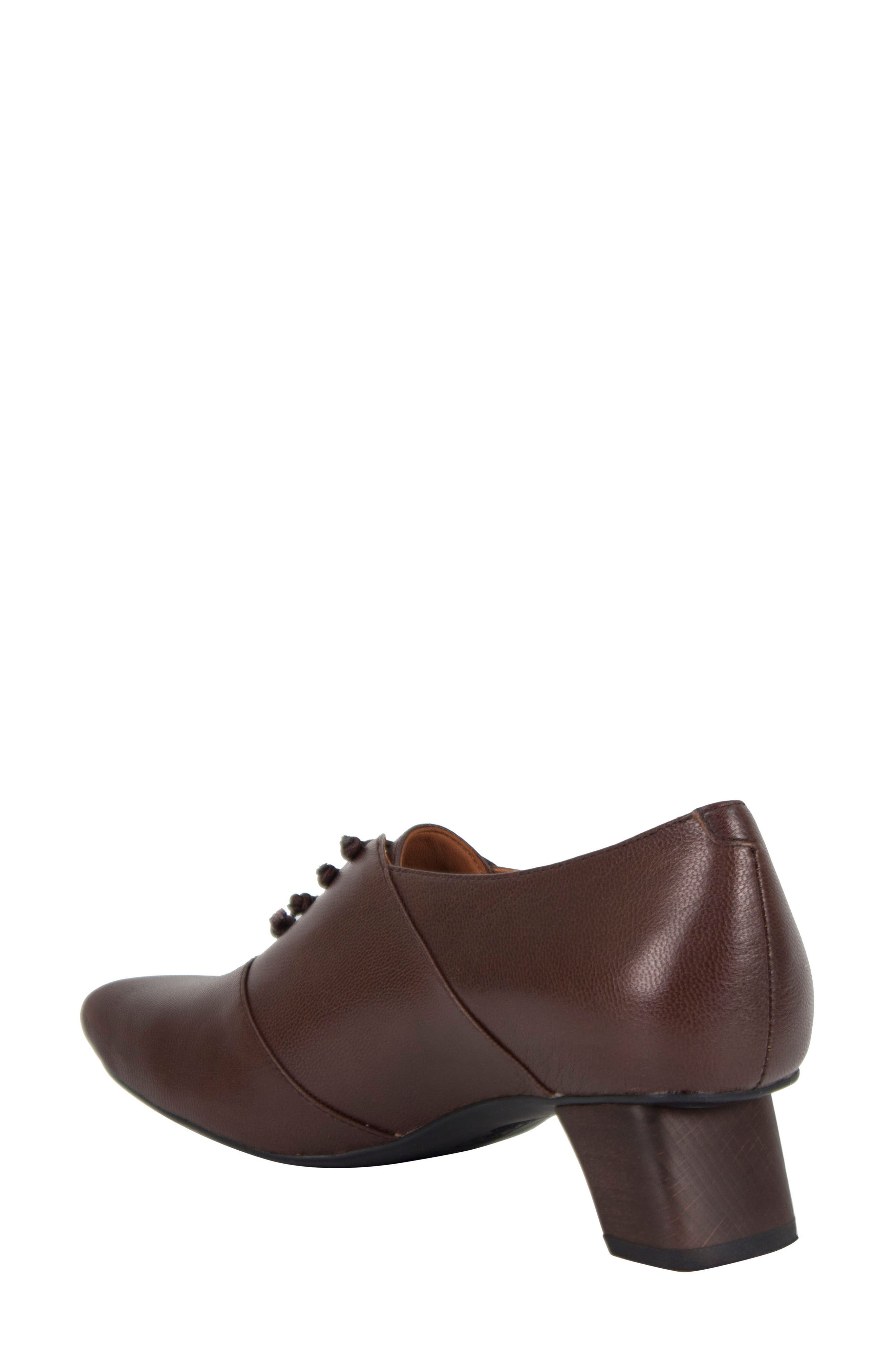Winifred Lace-Up Bootie,                             Alternate thumbnail 2, color,                             Moro Leather