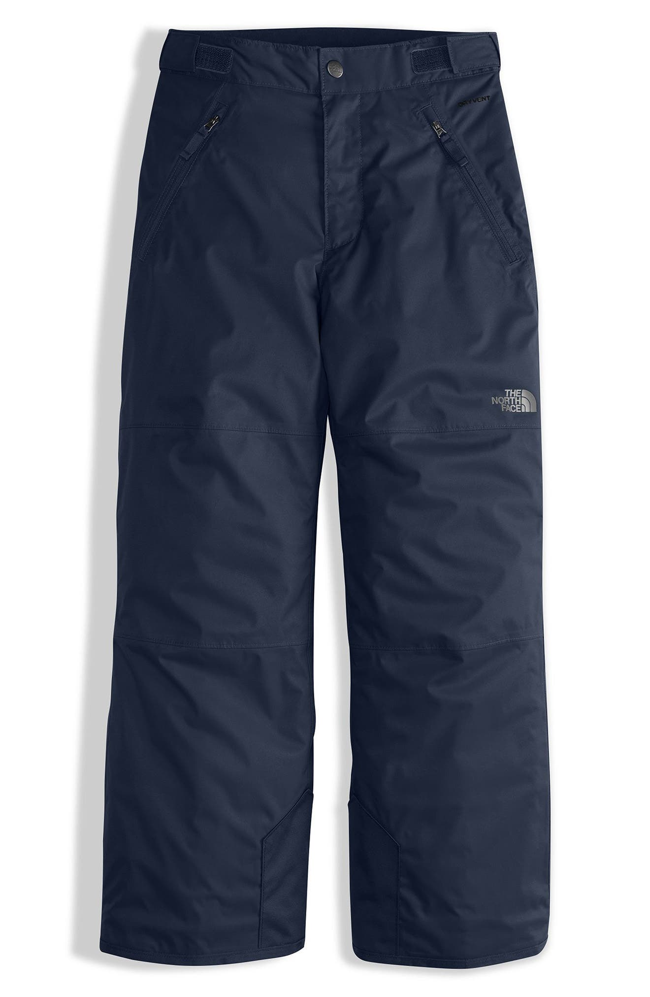 Alternate Image 1 Selected - The North Face Freedom Waterproof Insulated Pants (Big Boys)