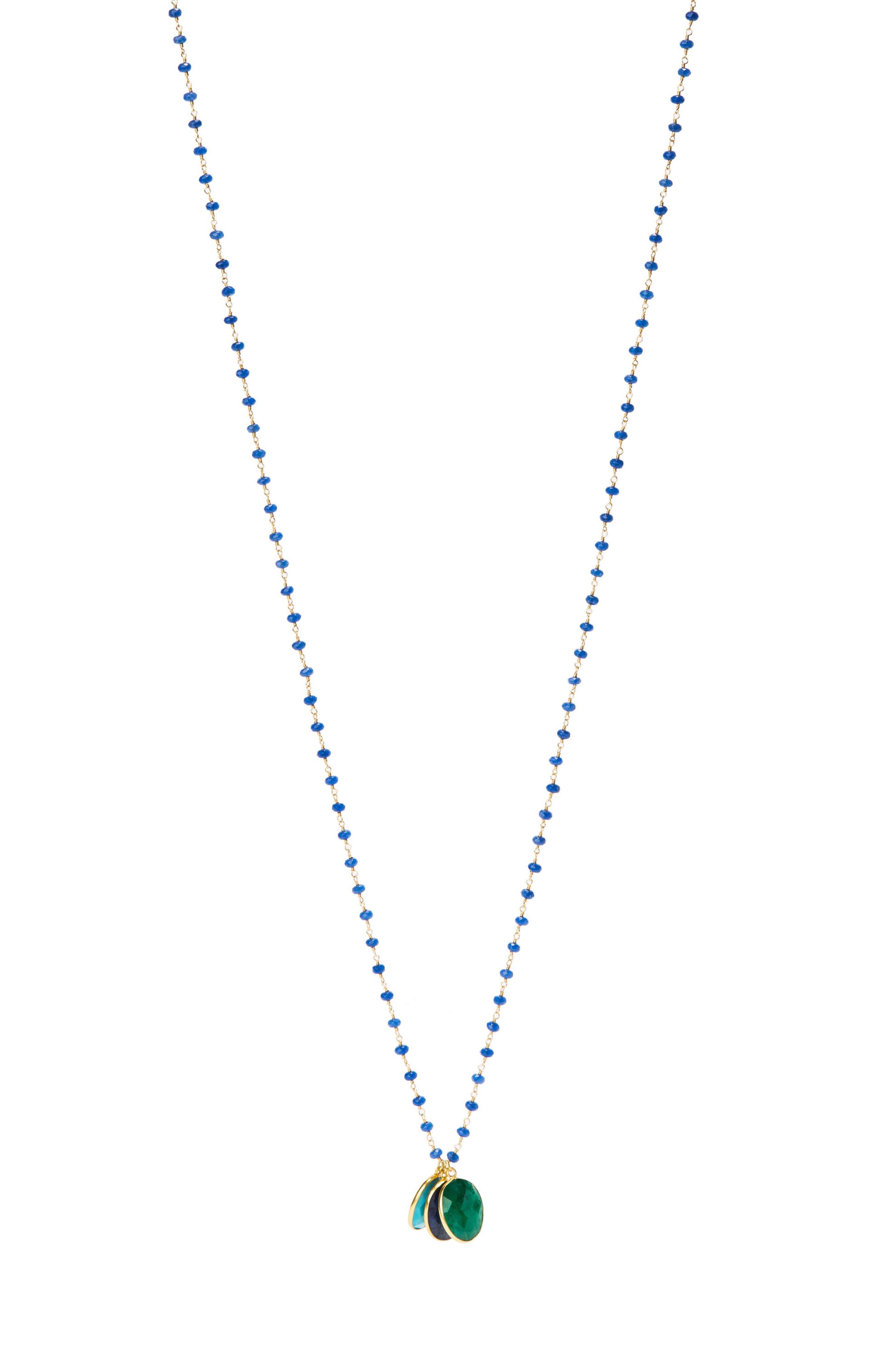 Main Image - Jemma Sands Grenada Long Pendant Necklace