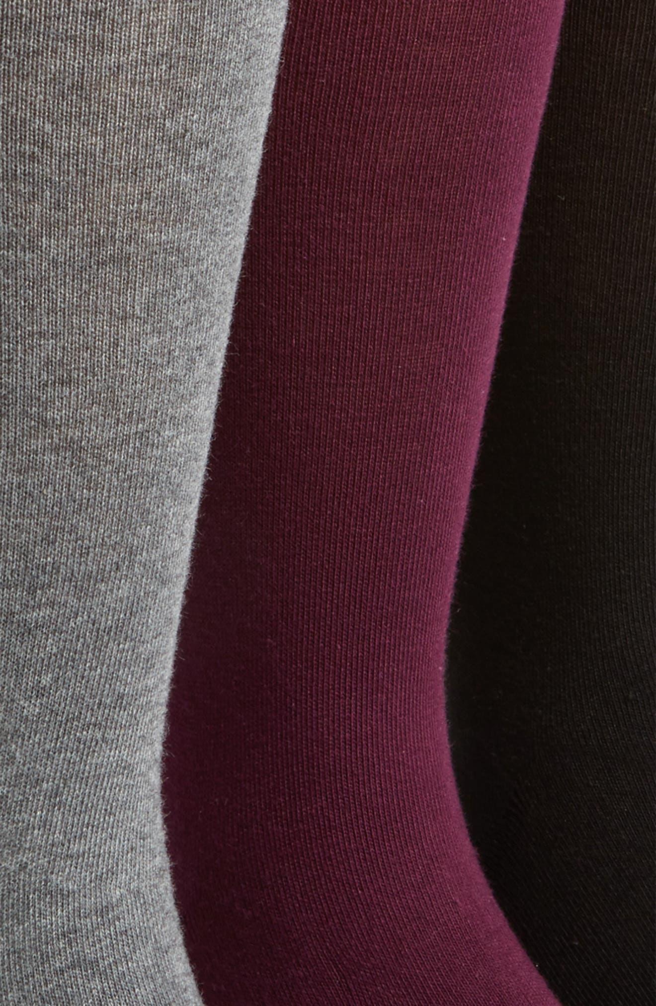 Alternate Image 2  - Calvin Klein Assorted 3-Pack Socks
