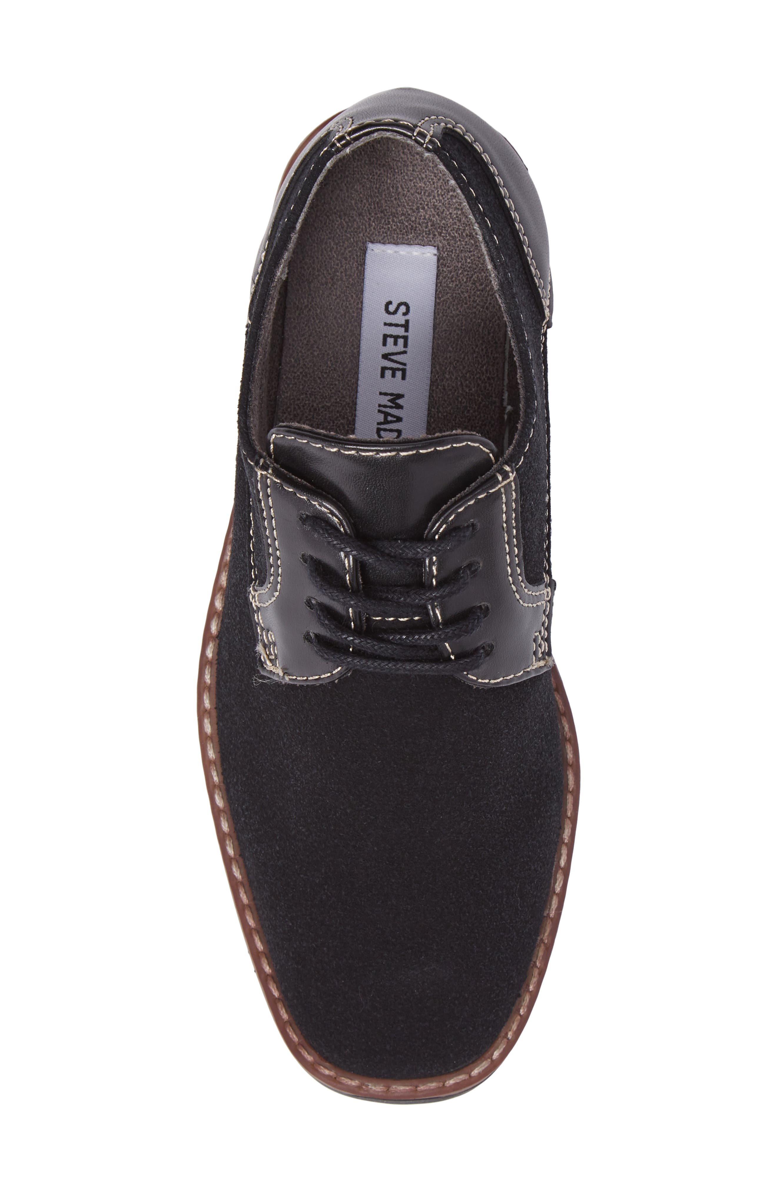 Alternate Image 5  - Steve Madden Fold Plain Toe Derby (Little Kid & Big Kid)